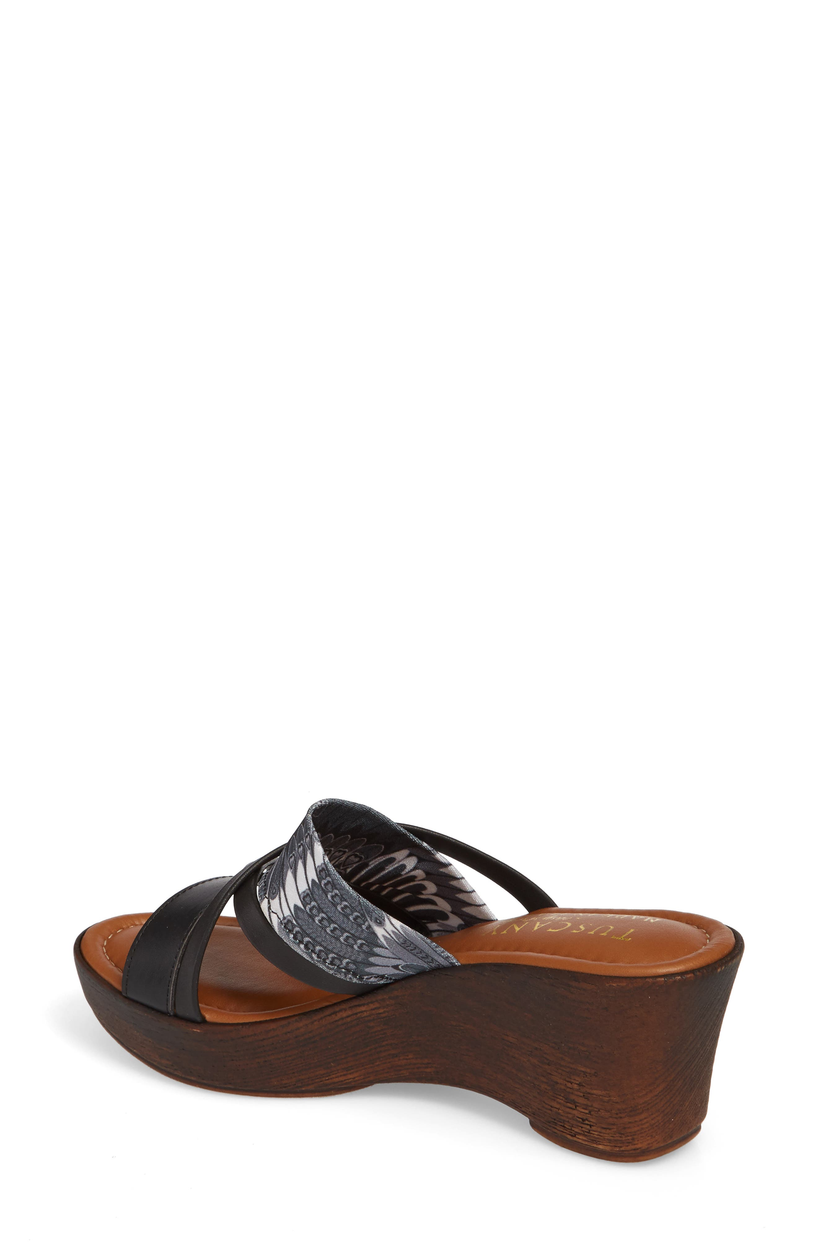 by East Street<sup>®</sup> Lucette Strappy Wedge Mule,                             Alternate thumbnail 6, color,