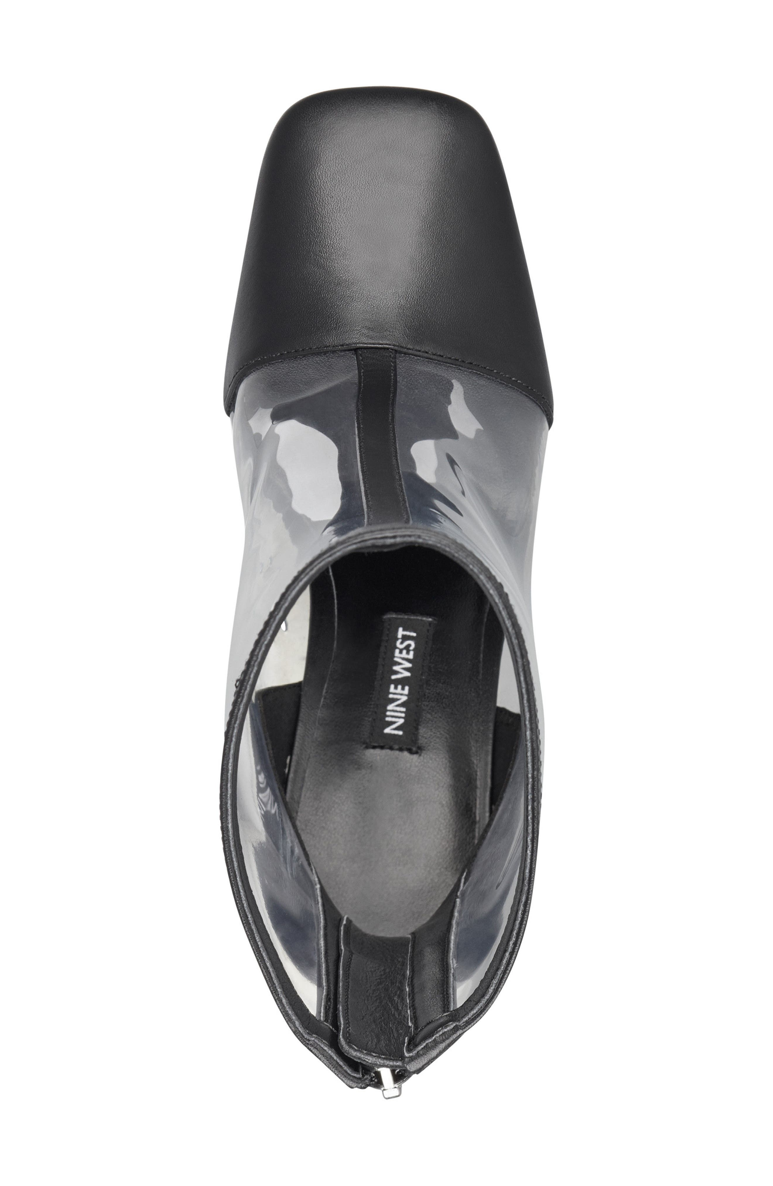 Quitend Boot,                             Alternate thumbnail 5, color,                             CLEAR/ BLACK
