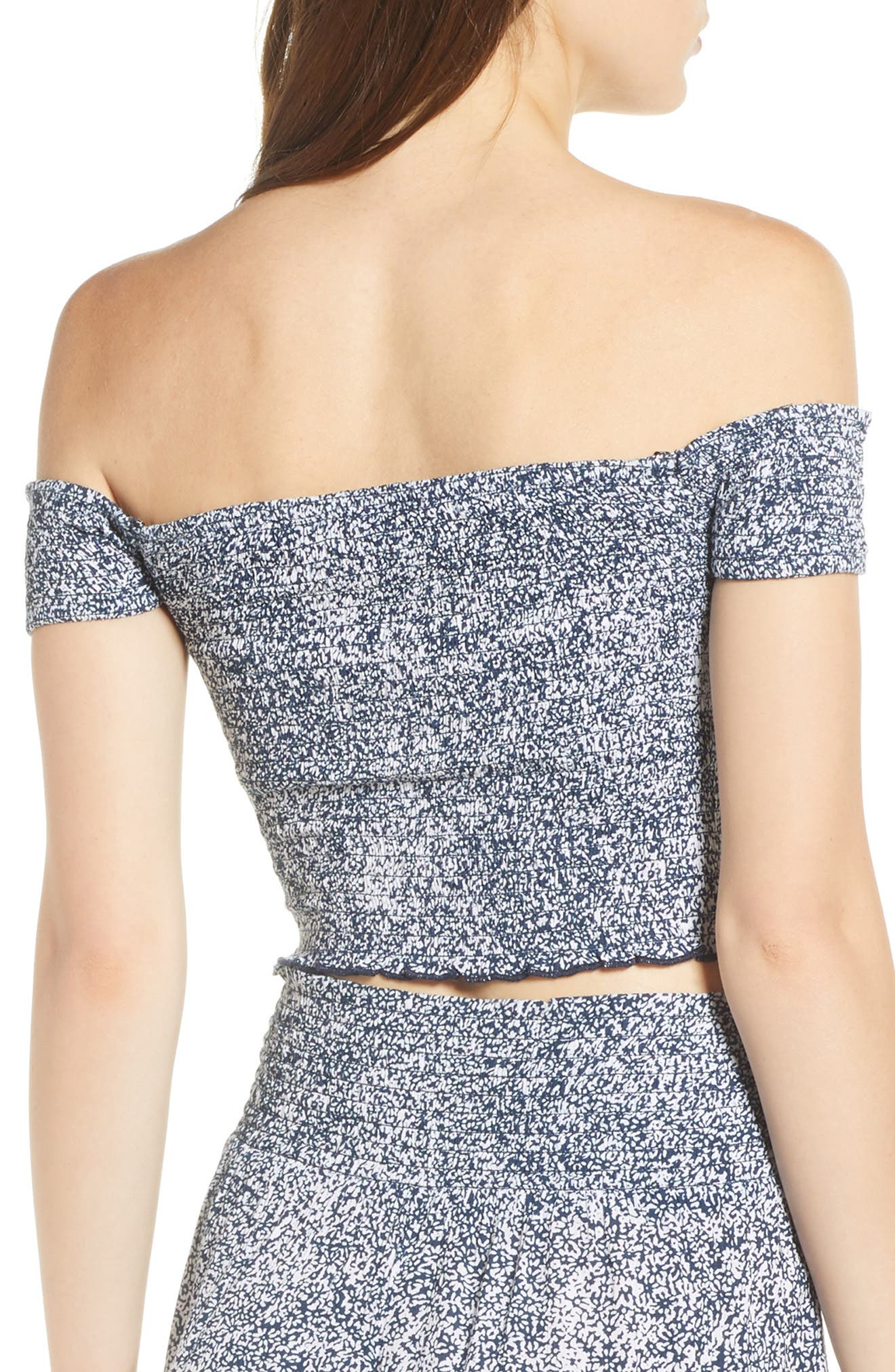 She's So Daisy Off the Shoulder Top,                             Alternate thumbnail 2, color,                             415