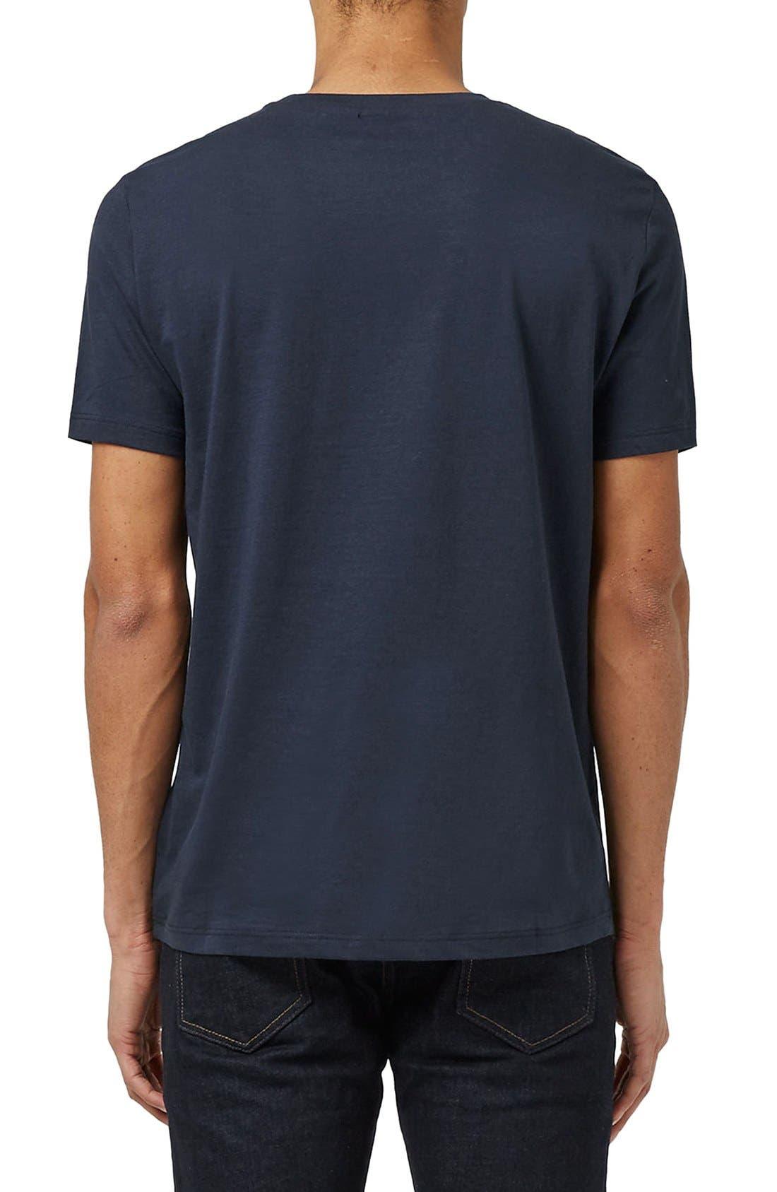 Slim Fit Crewneck T-Shirt,                             Alternate thumbnail 343, color,