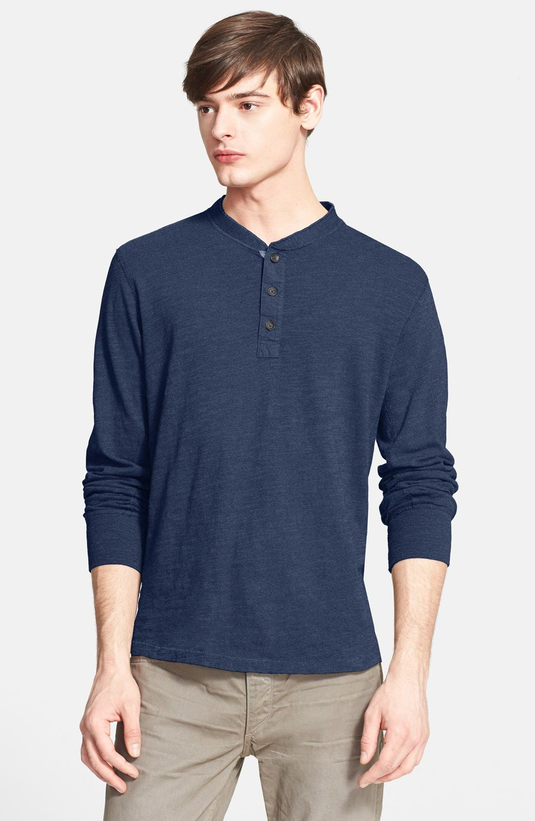 Standard Issue Slub Cotton Henley,                             Main thumbnail 11, color,