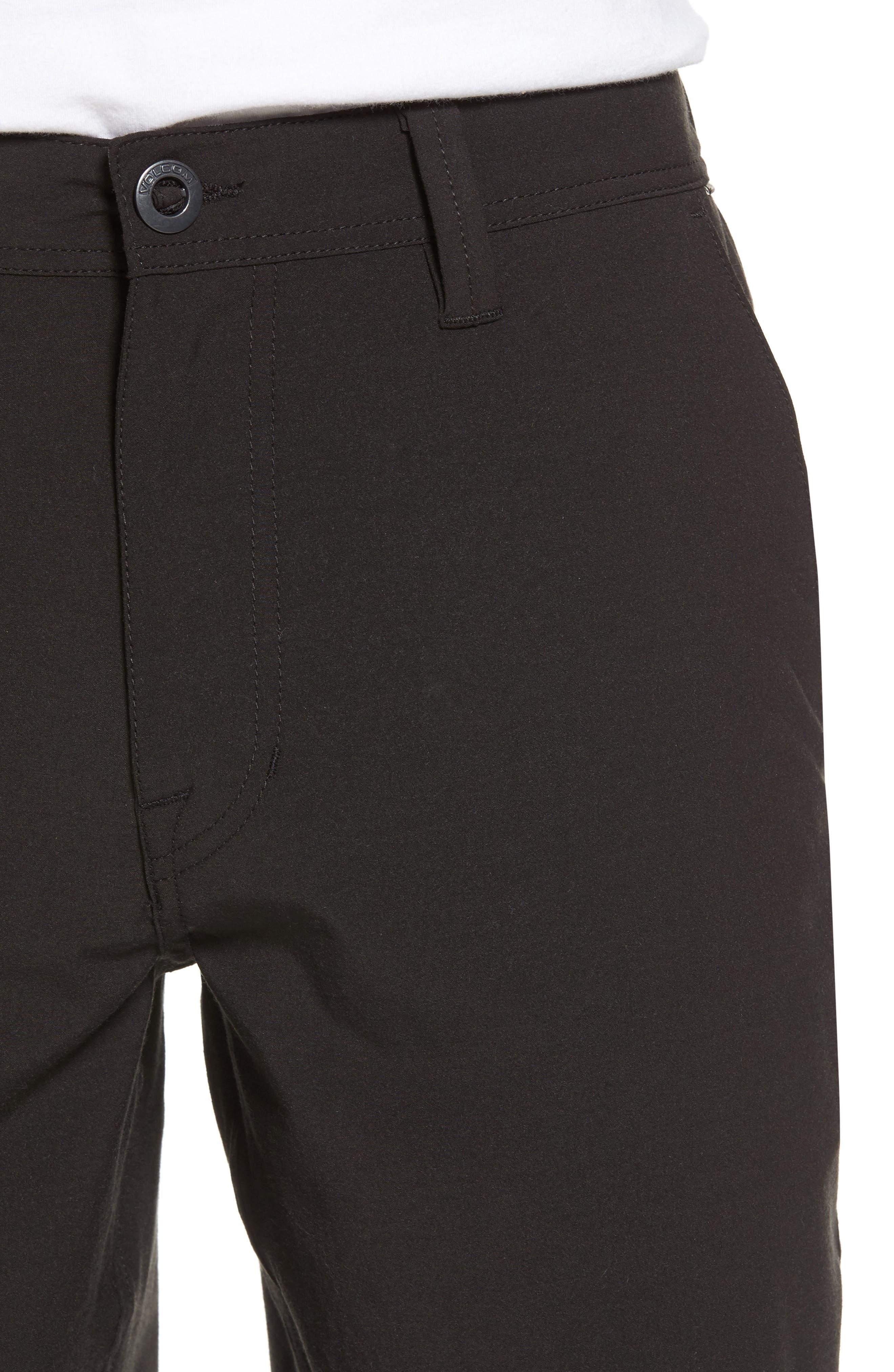 Hybrid Shorts,                             Alternate thumbnail 4, color,                             BLACK