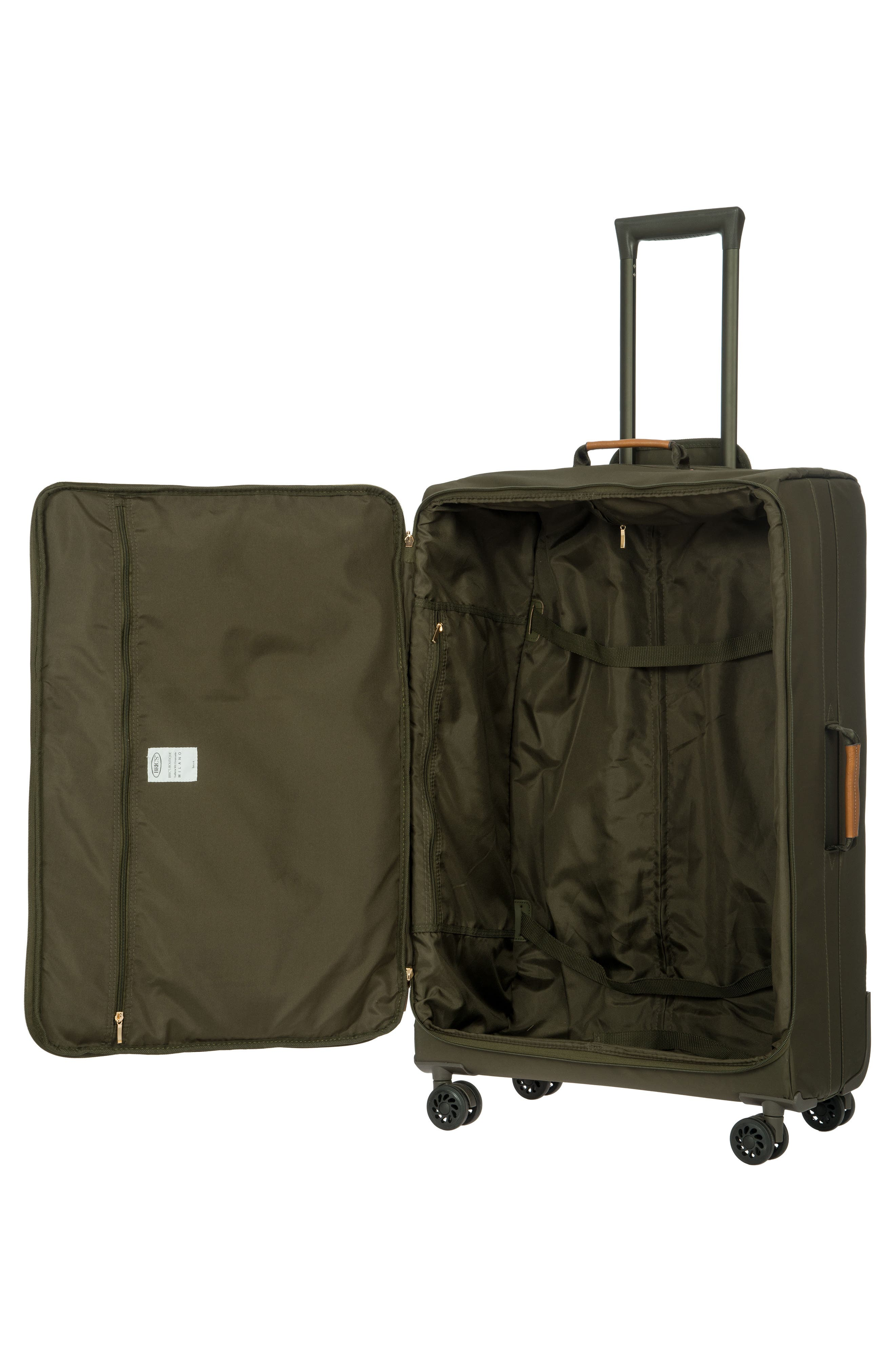 BRIC'S,                             X-Bag 30-Inch Spinner Suitcase,                             Alternate thumbnail 2, color,                             OLIVE