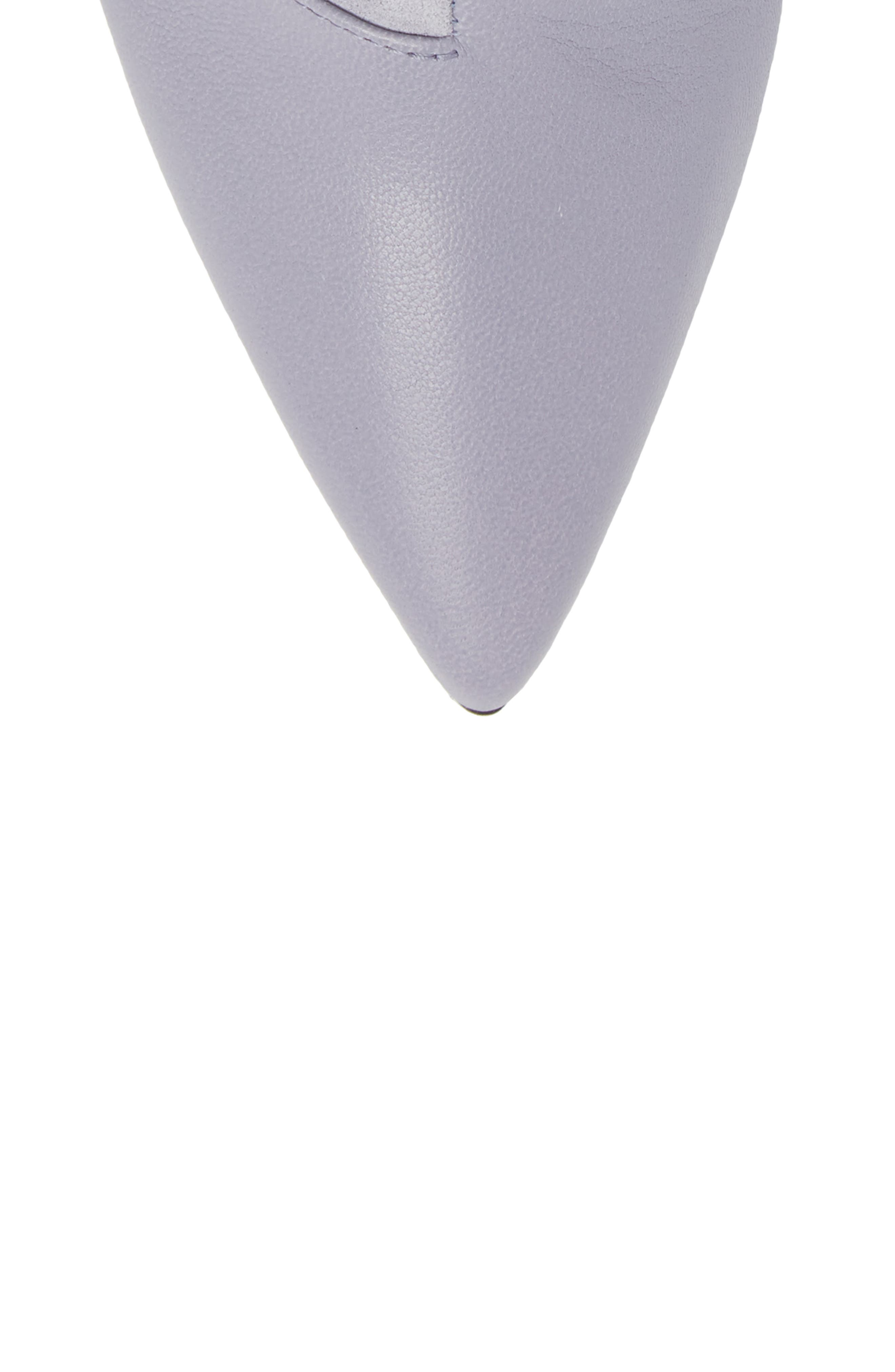 Beha Pointy Toe Bootie,                             Alternate thumbnail 5, color,                             LILAC COMBO