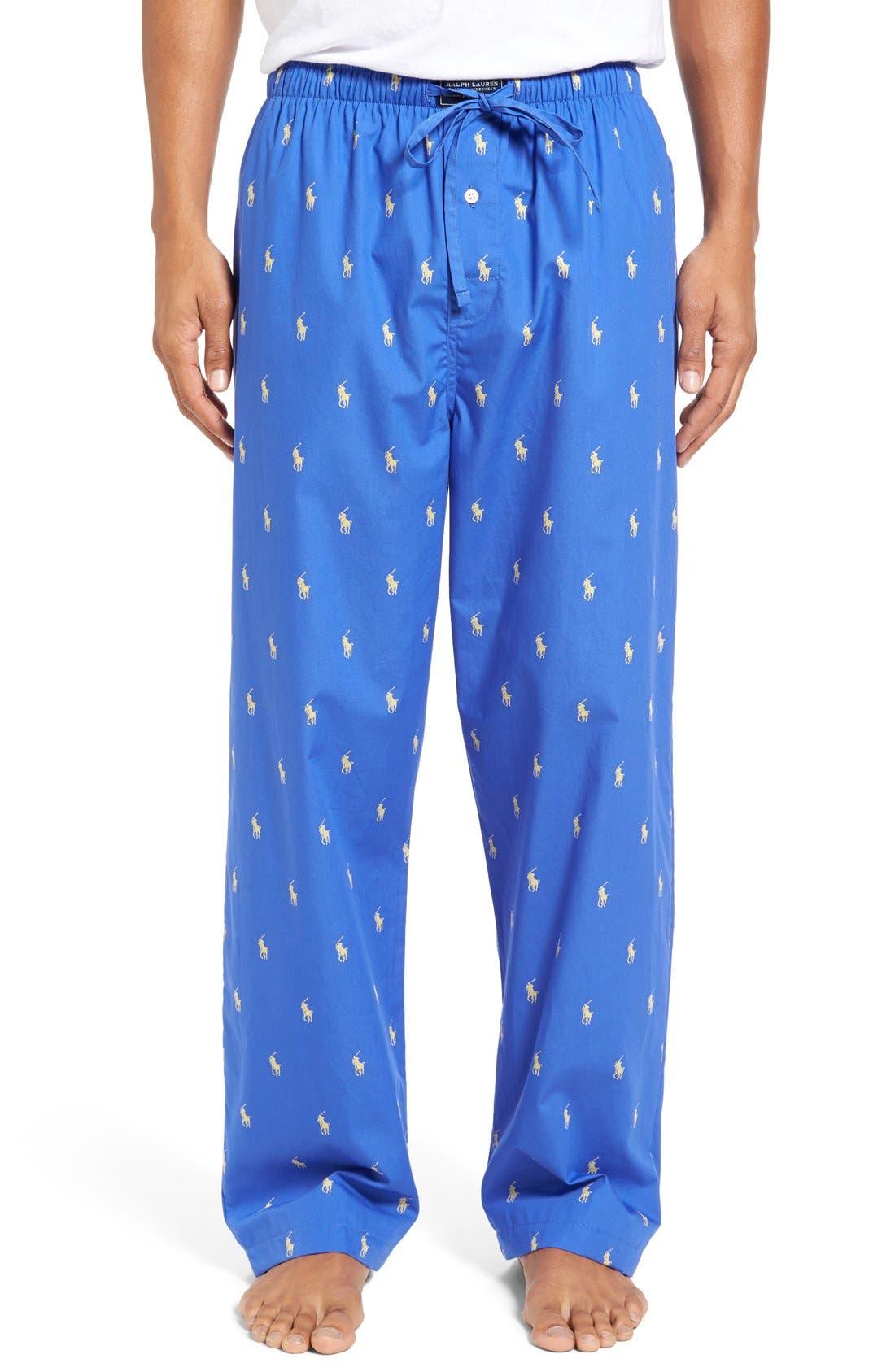 Cotton Lounge Pants,                             Main thumbnail 5, color,