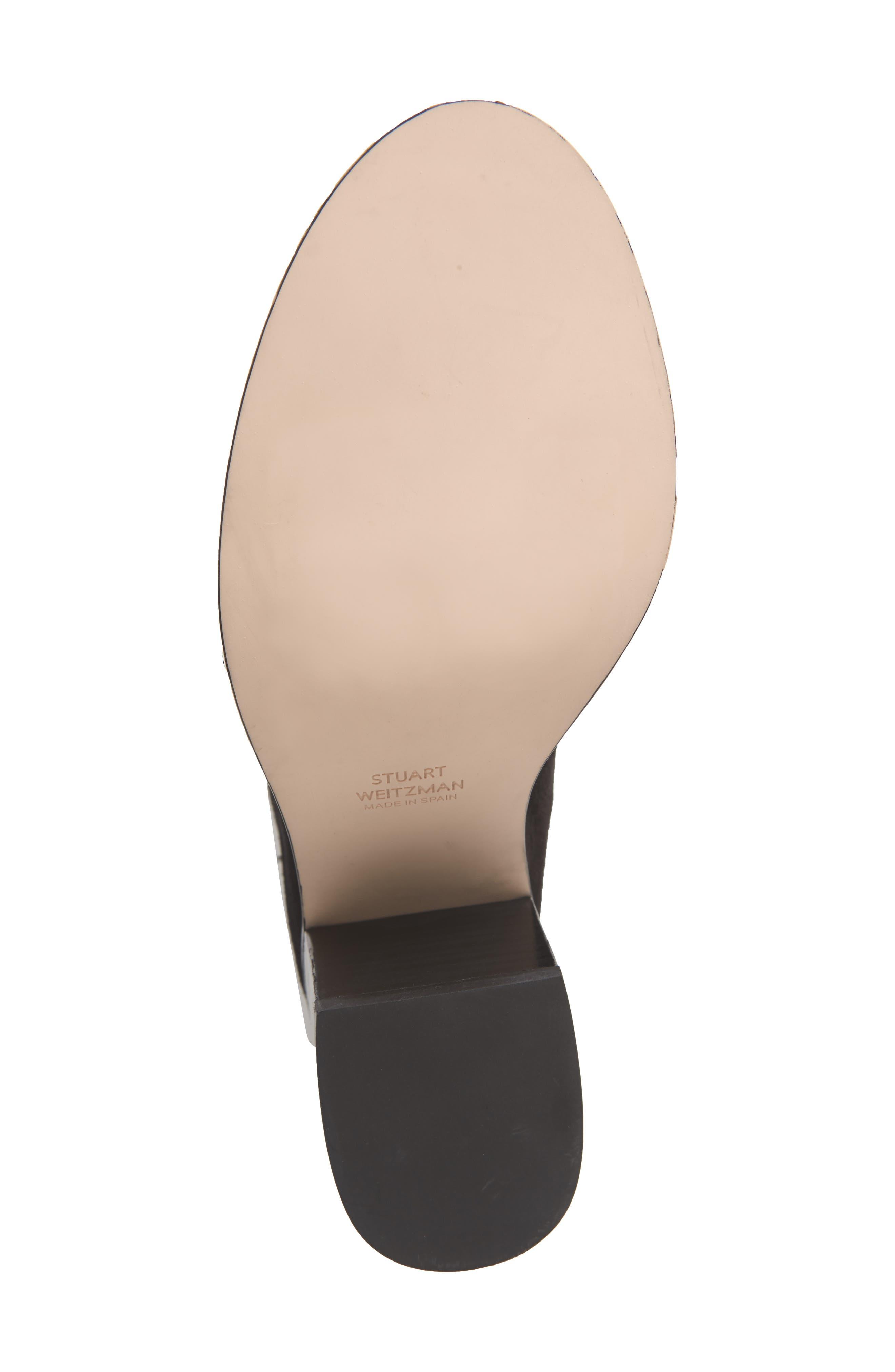 Morrison Knee High Boot,                             Alternate thumbnail 6, color,                             BLACK FEZ