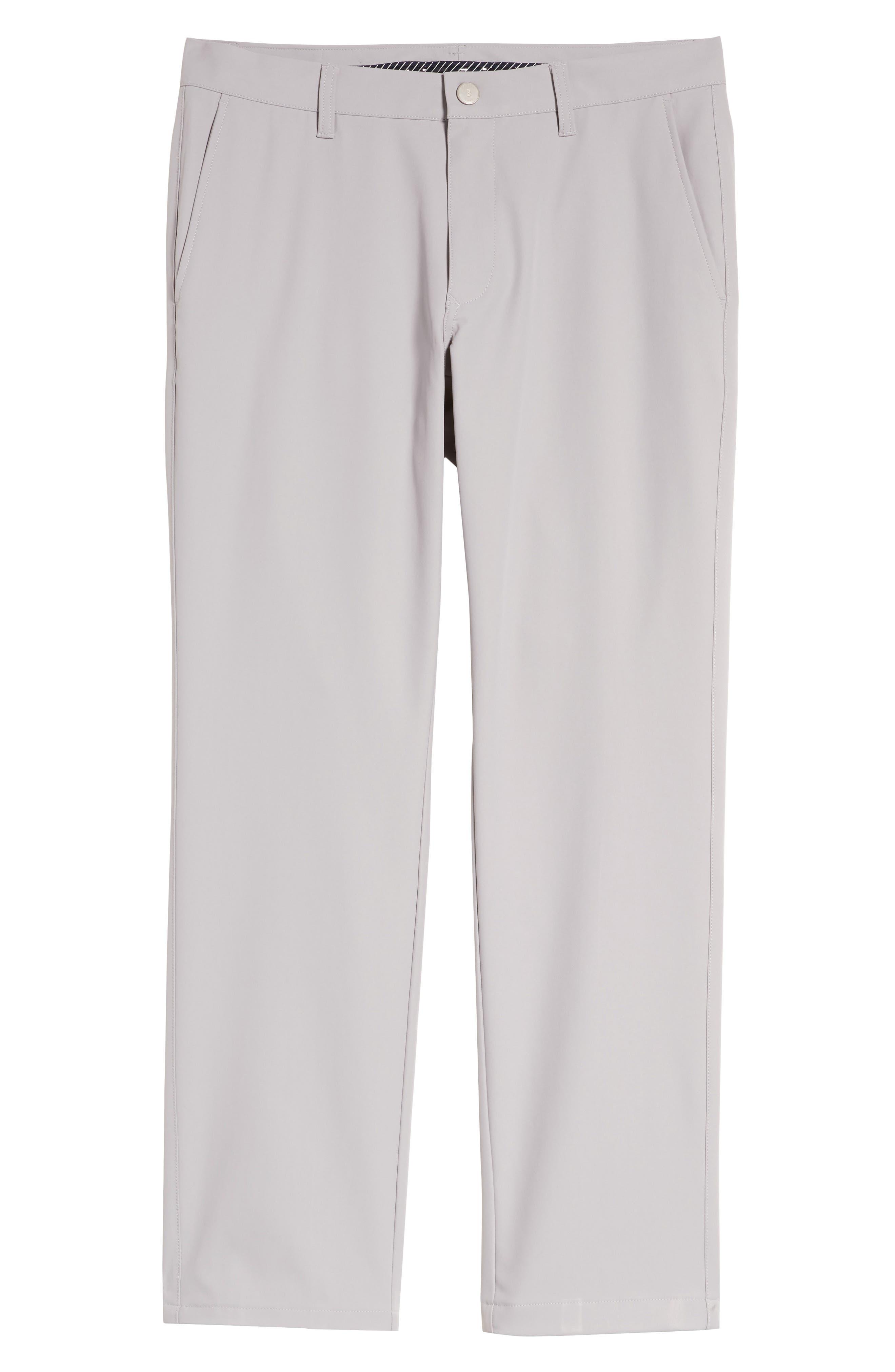 Highland Slim Fit Golf Pants,                             Alternate thumbnail 6, color,                             LIGHT GREY