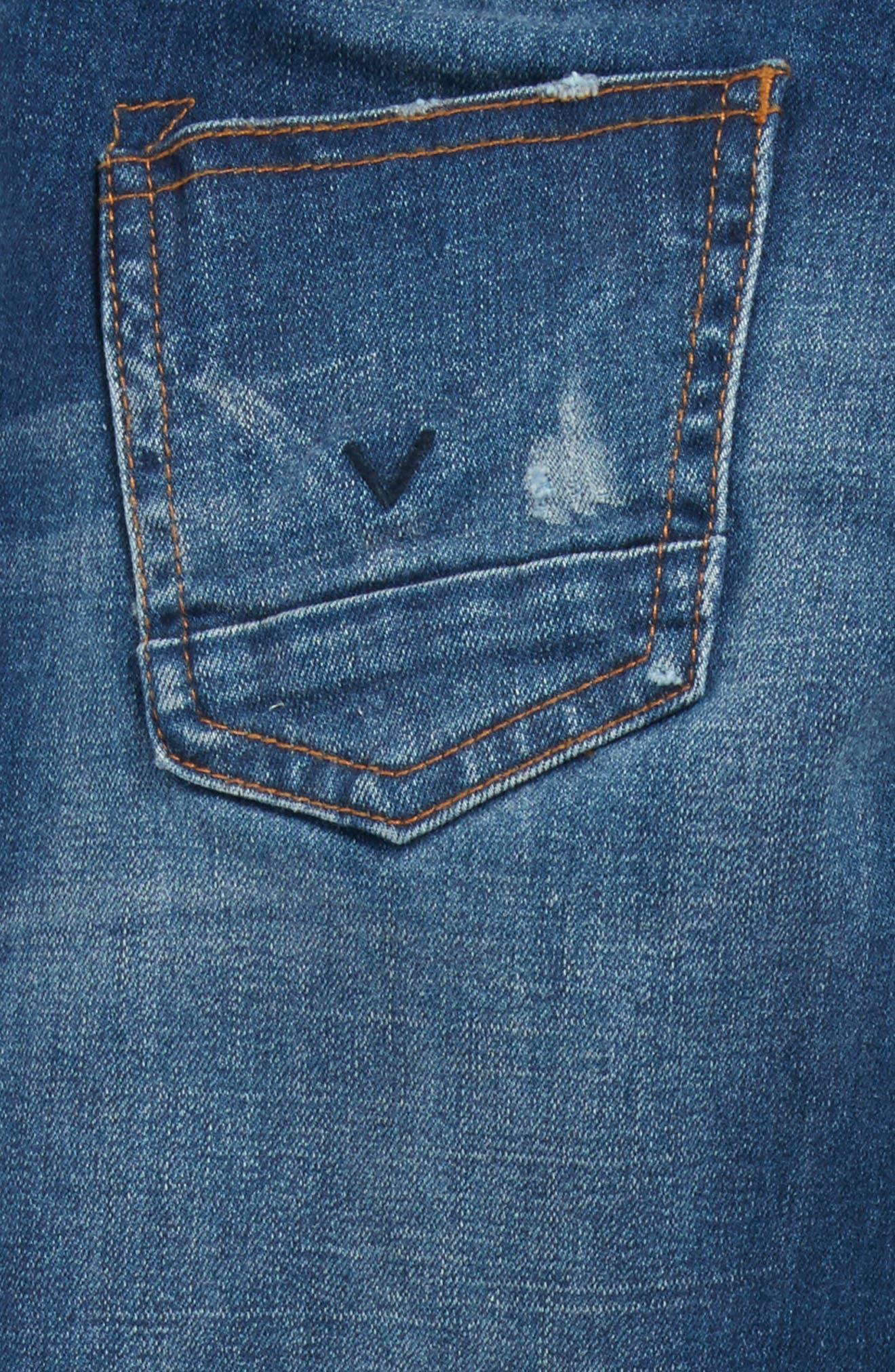 Hudson Jagger Slim Straight Leg Jeans,                             Alternate thumbnail 4, color,