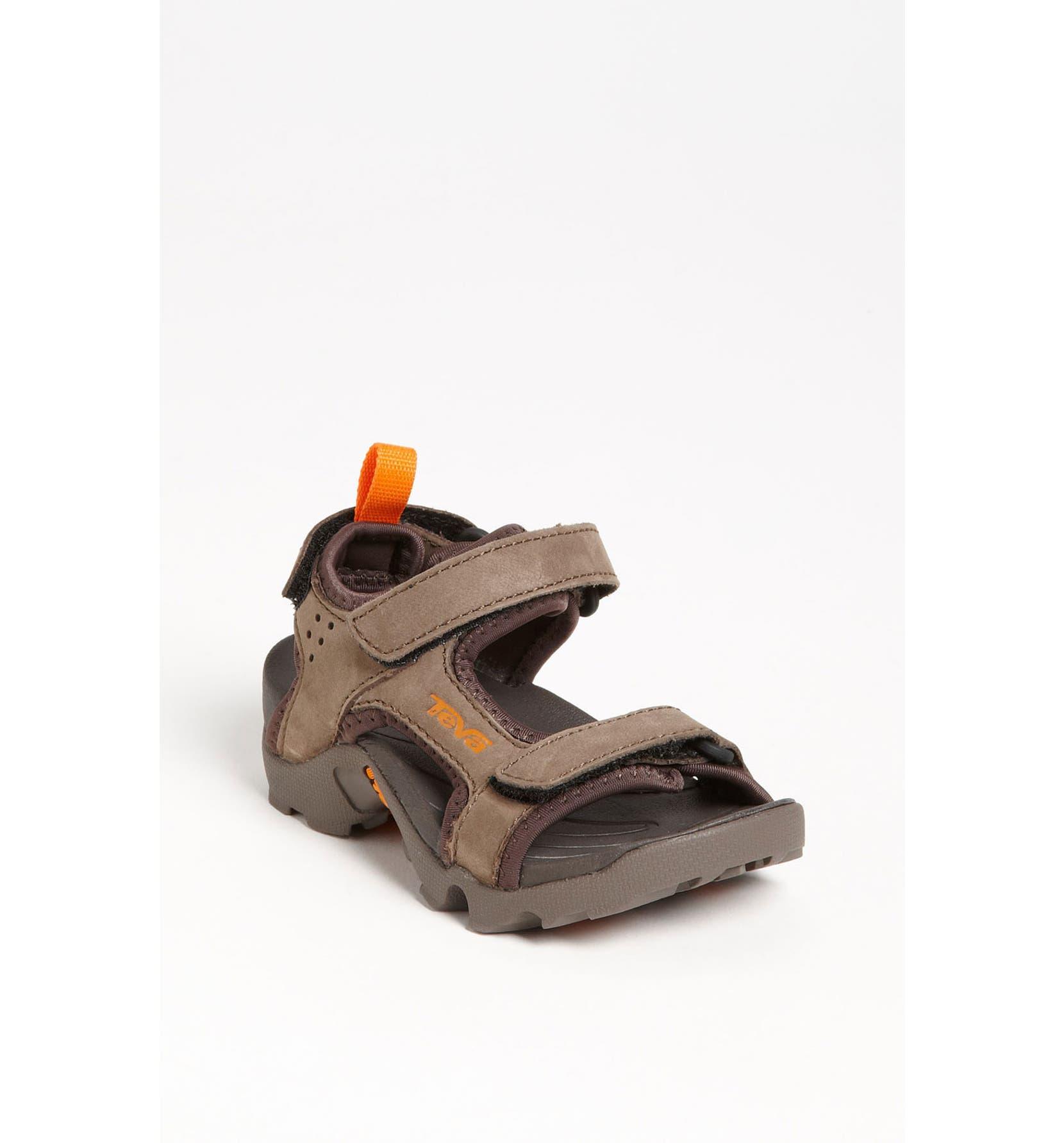 71ec8a0a4d30 Teva  Tanza  Waterproof Leather Sandal (Toddler   Little Kid ...