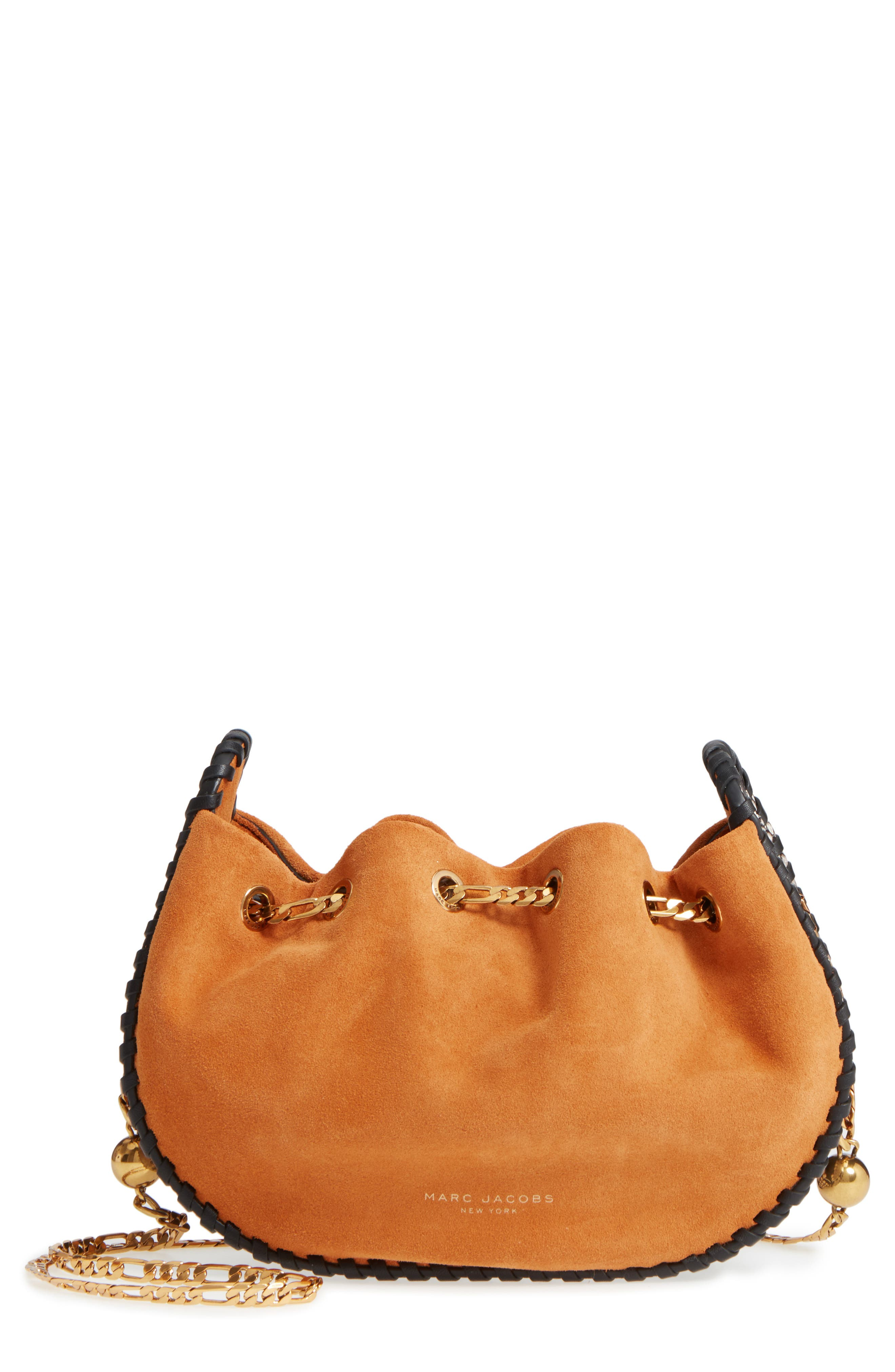 Sway Party Suede Crossbody Bag,                             Main thumbnail 1, color,                             276