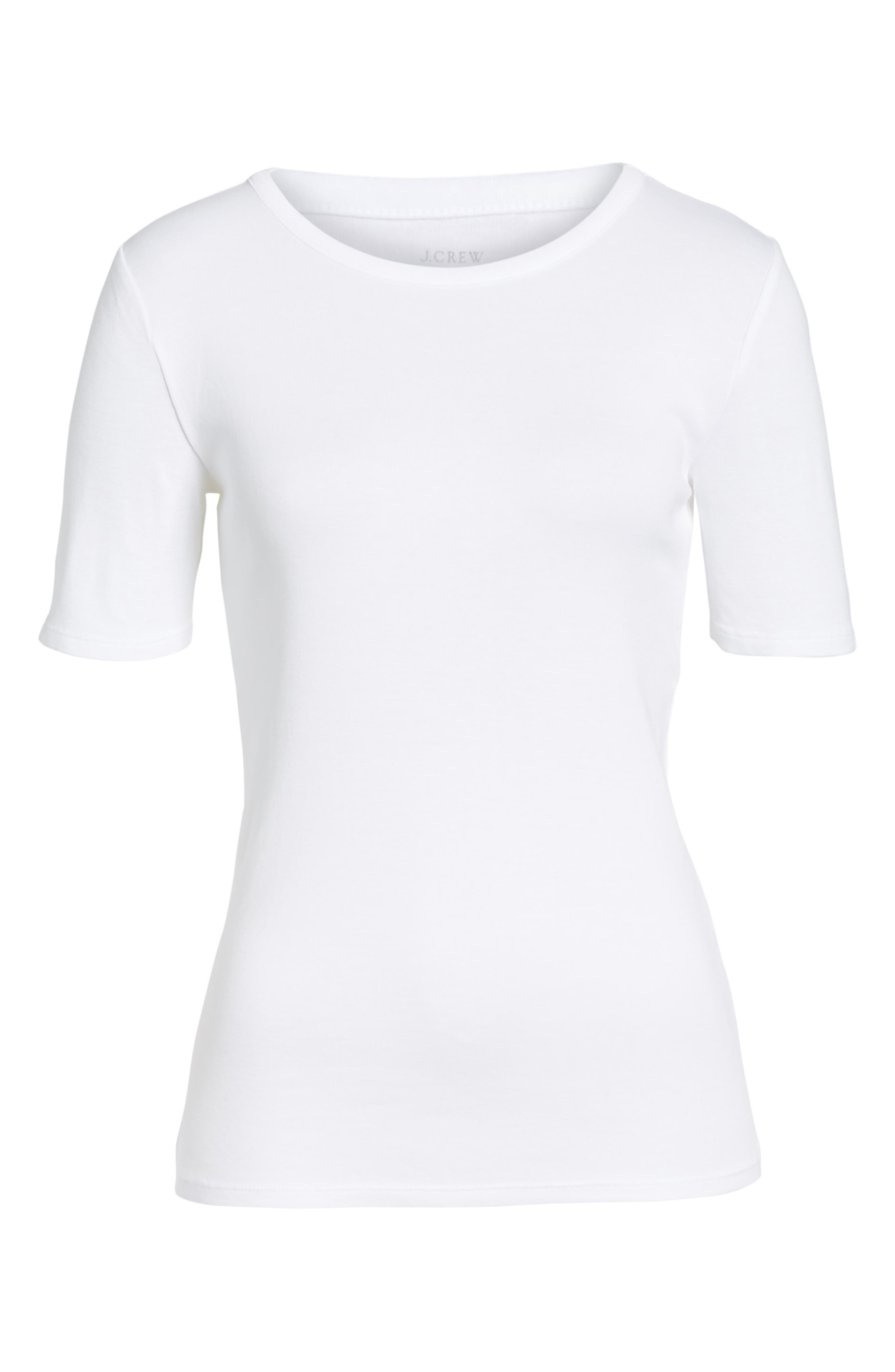 New Perfect Fit Tee,                             Main thumbnail 1, color,                             WHITE