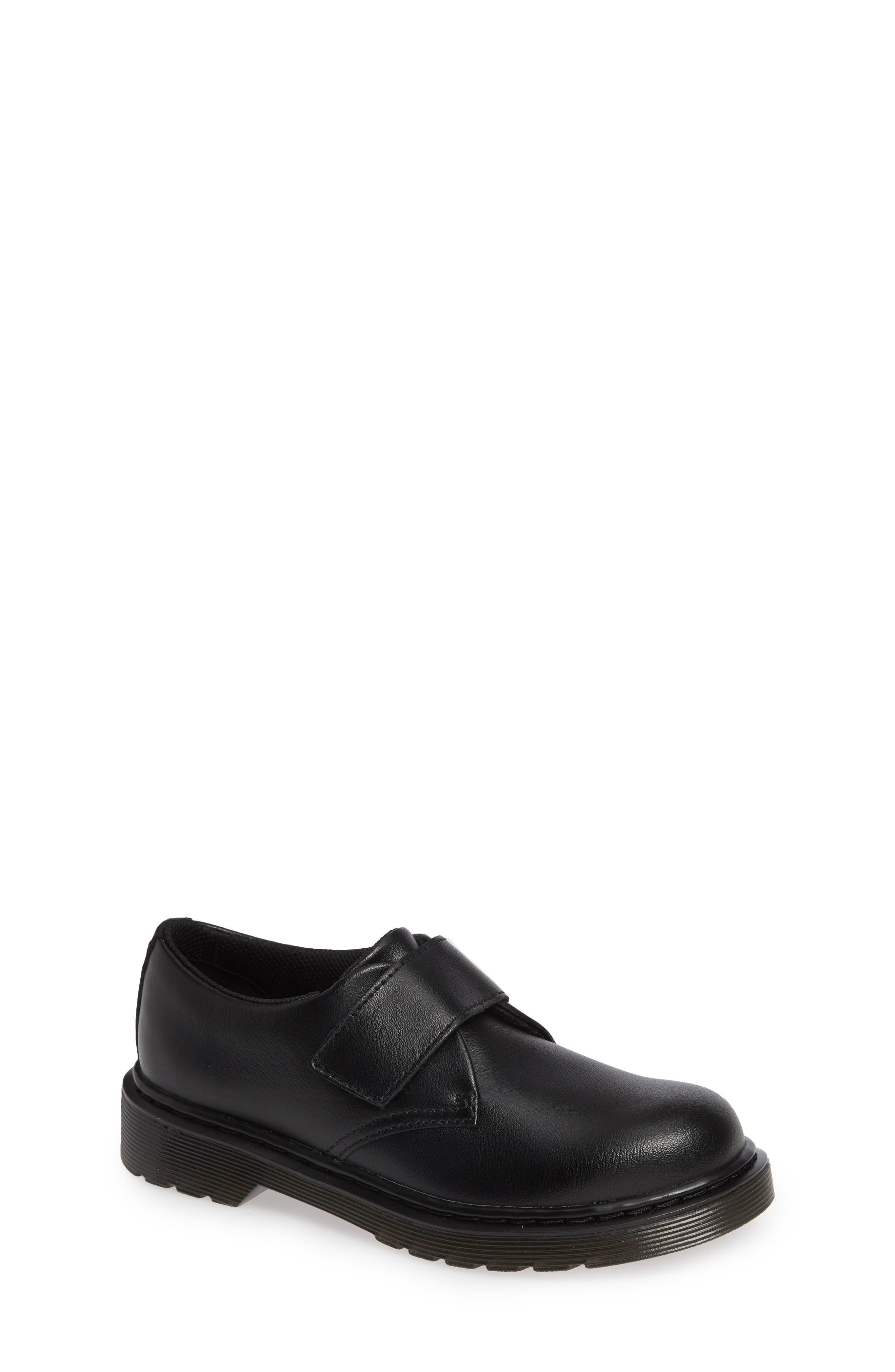 Toddler Dr Martens Strap Shoe Size 2 M  Black