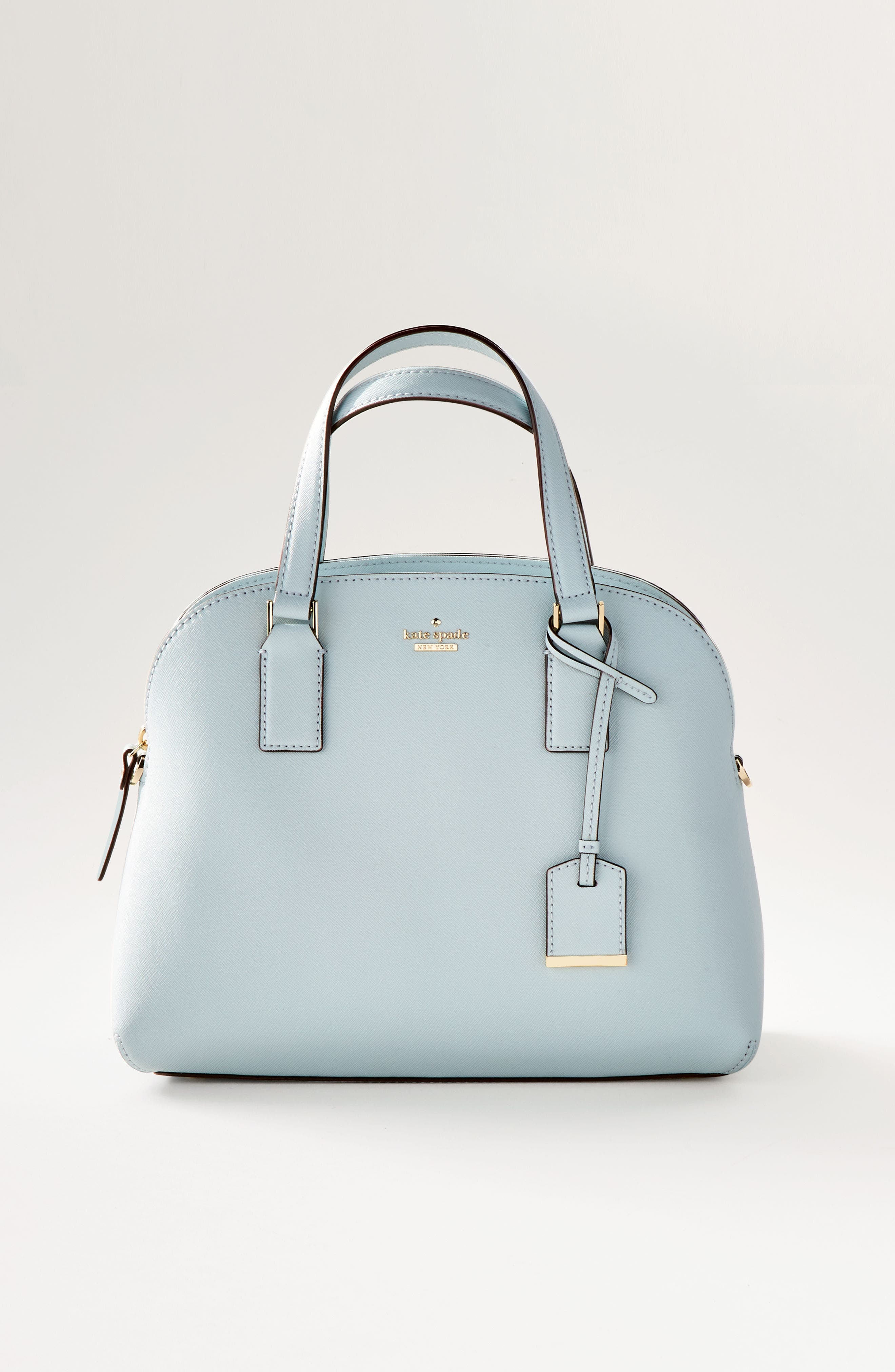 cameron street - lottie leather satchel,                             Alternate thumbnail 9, color,                             001