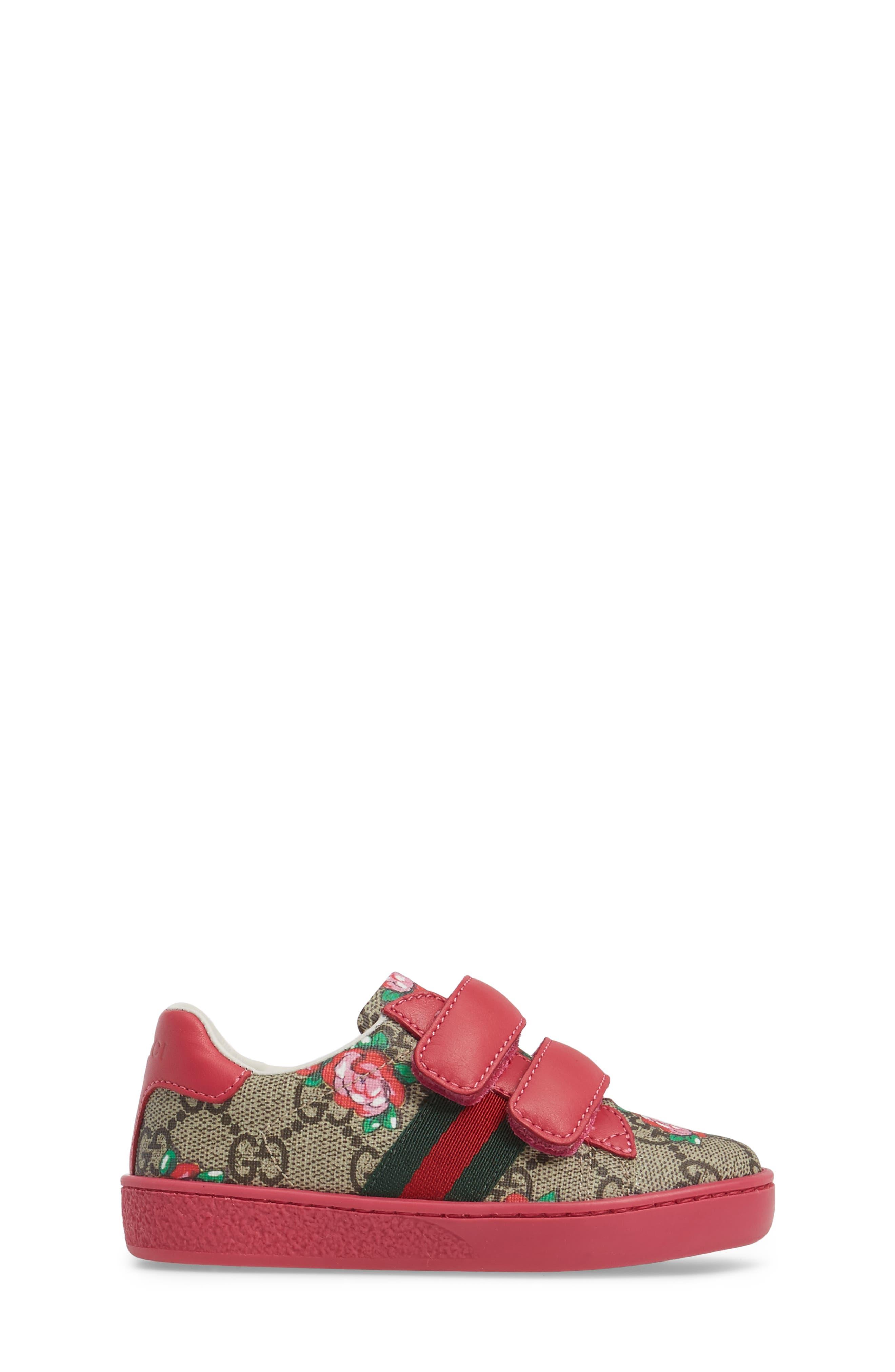 New Ace Monogram Sneaker,                             Alternate thumbnail 3, color,                             250