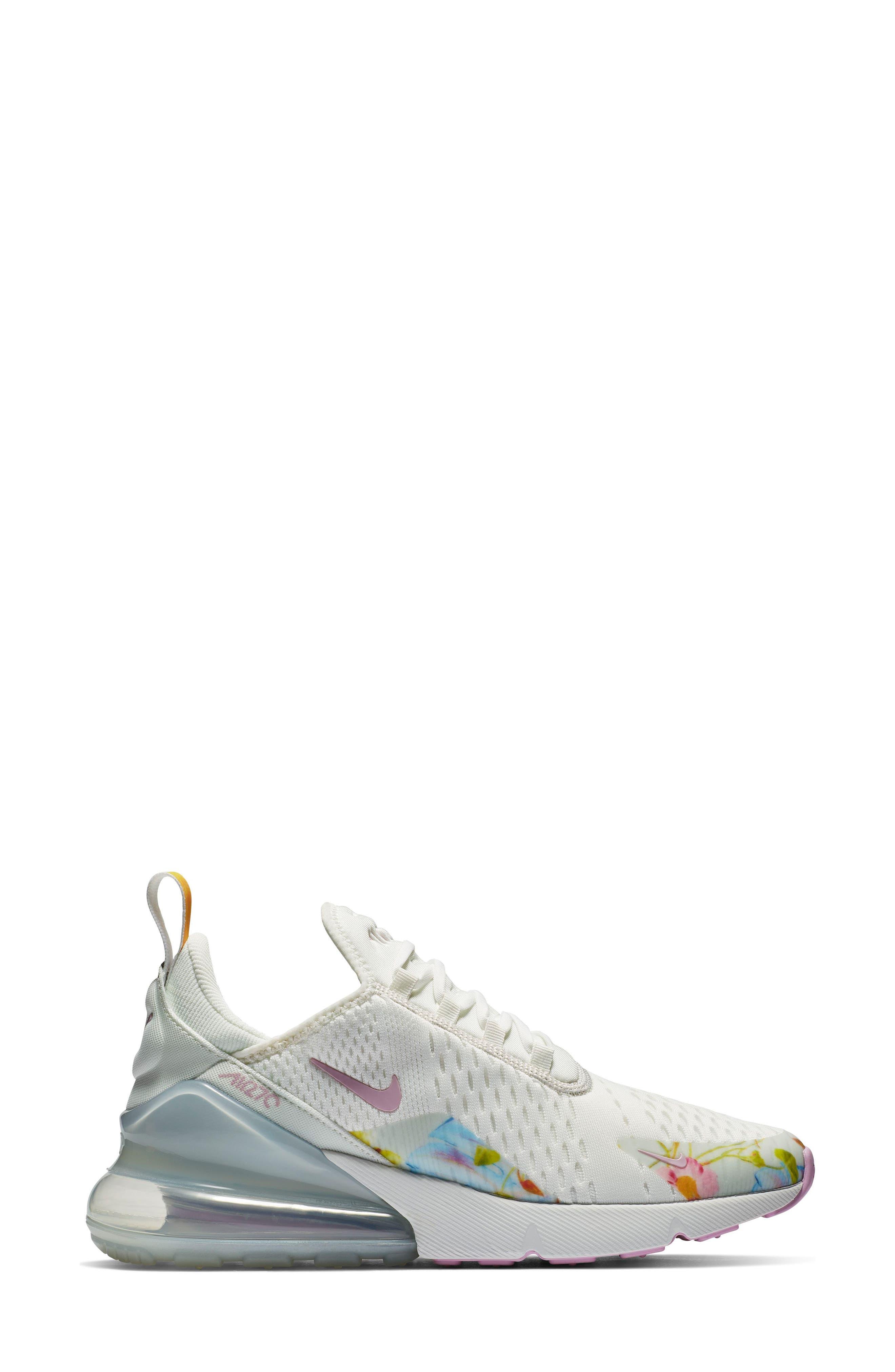 Air Max 270 Premium Sneaker,                             Alternate thumbnail 3, color,                             100