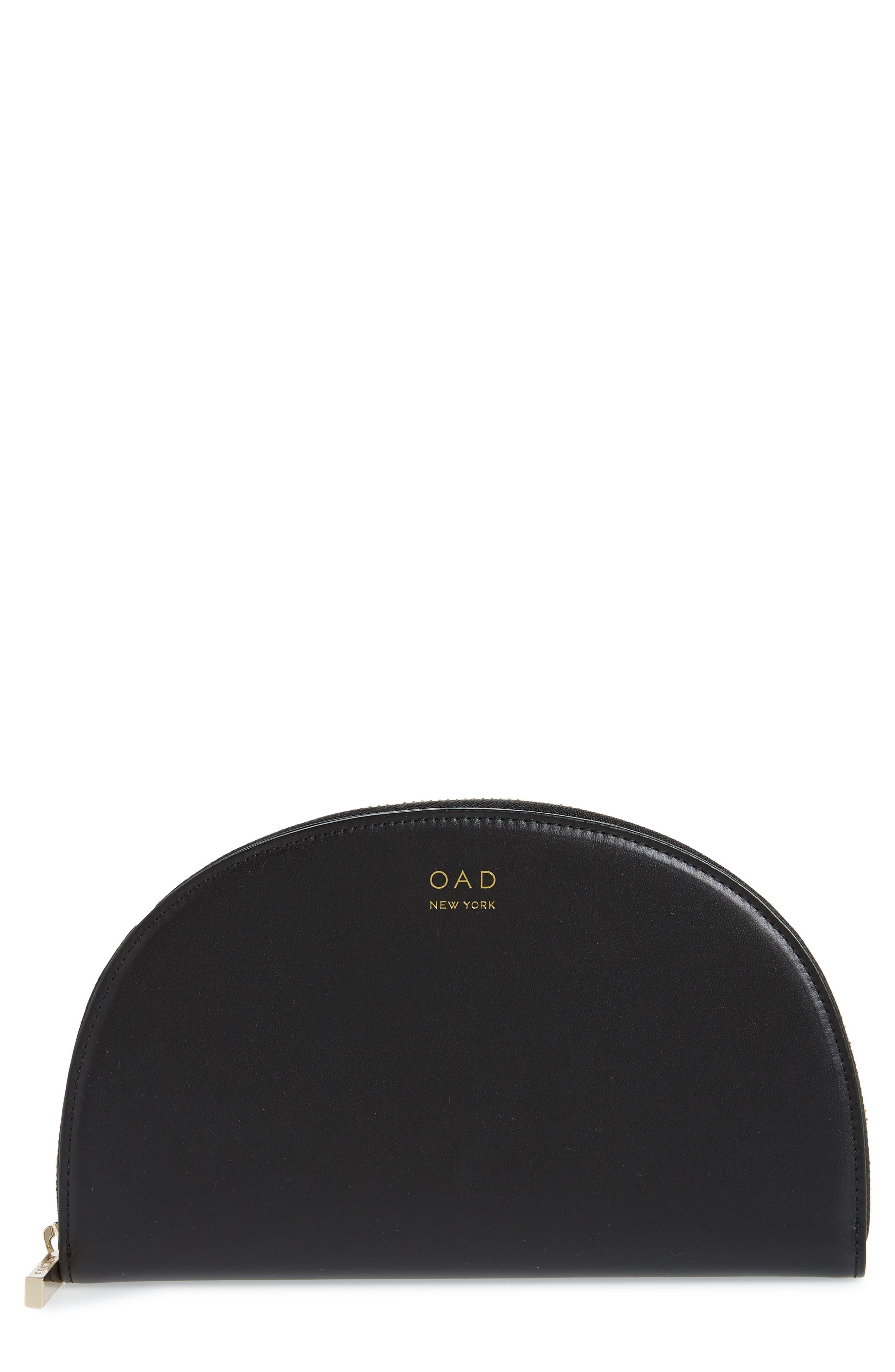 Dia Continental Mirror Wallet,                             Main thumbnail 1, color,                             TRUE BLACK