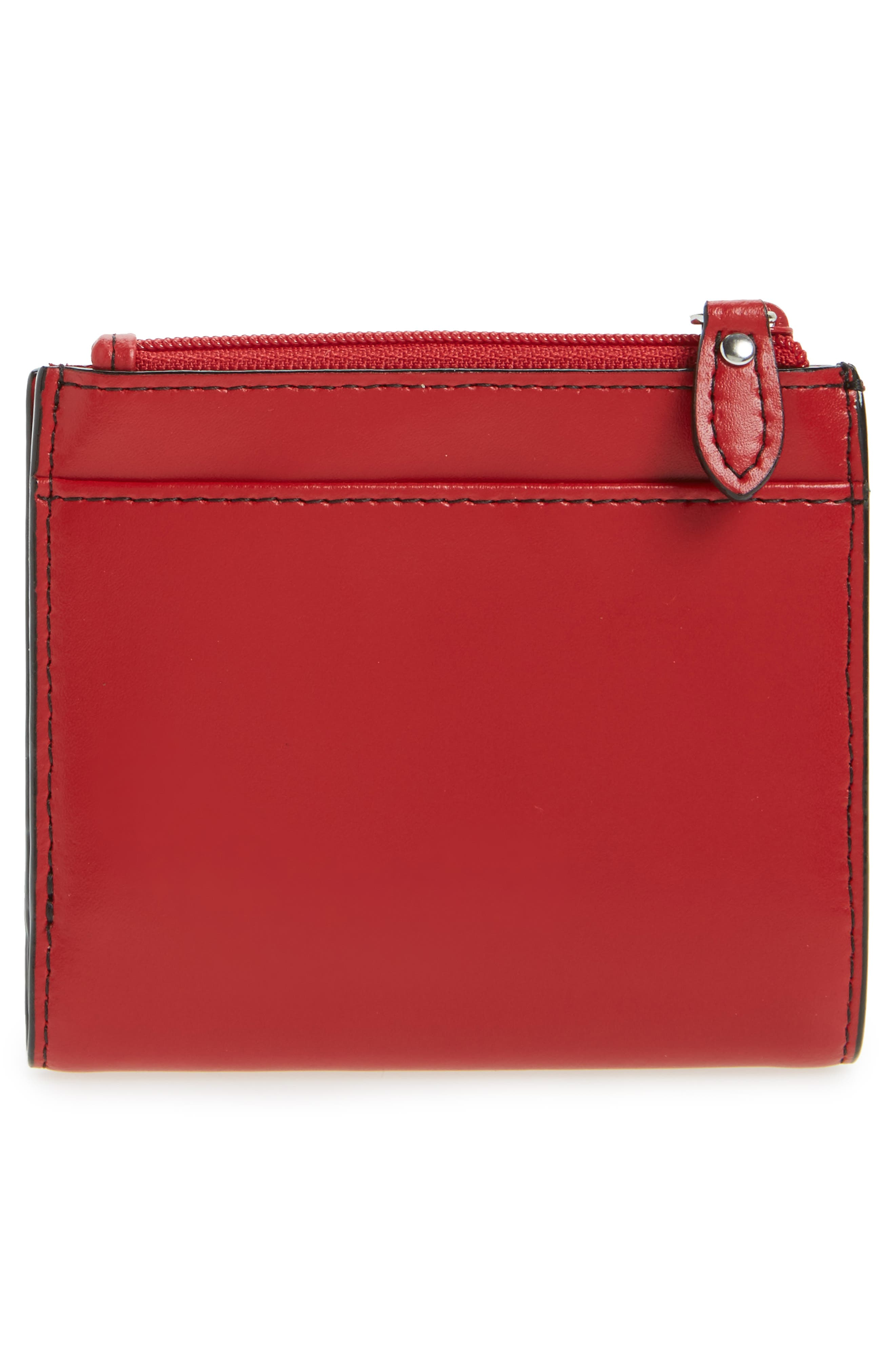 Audrey Under Lock & Key Aldis Leather Wallet,                             Alternate thumbnail 12, color,