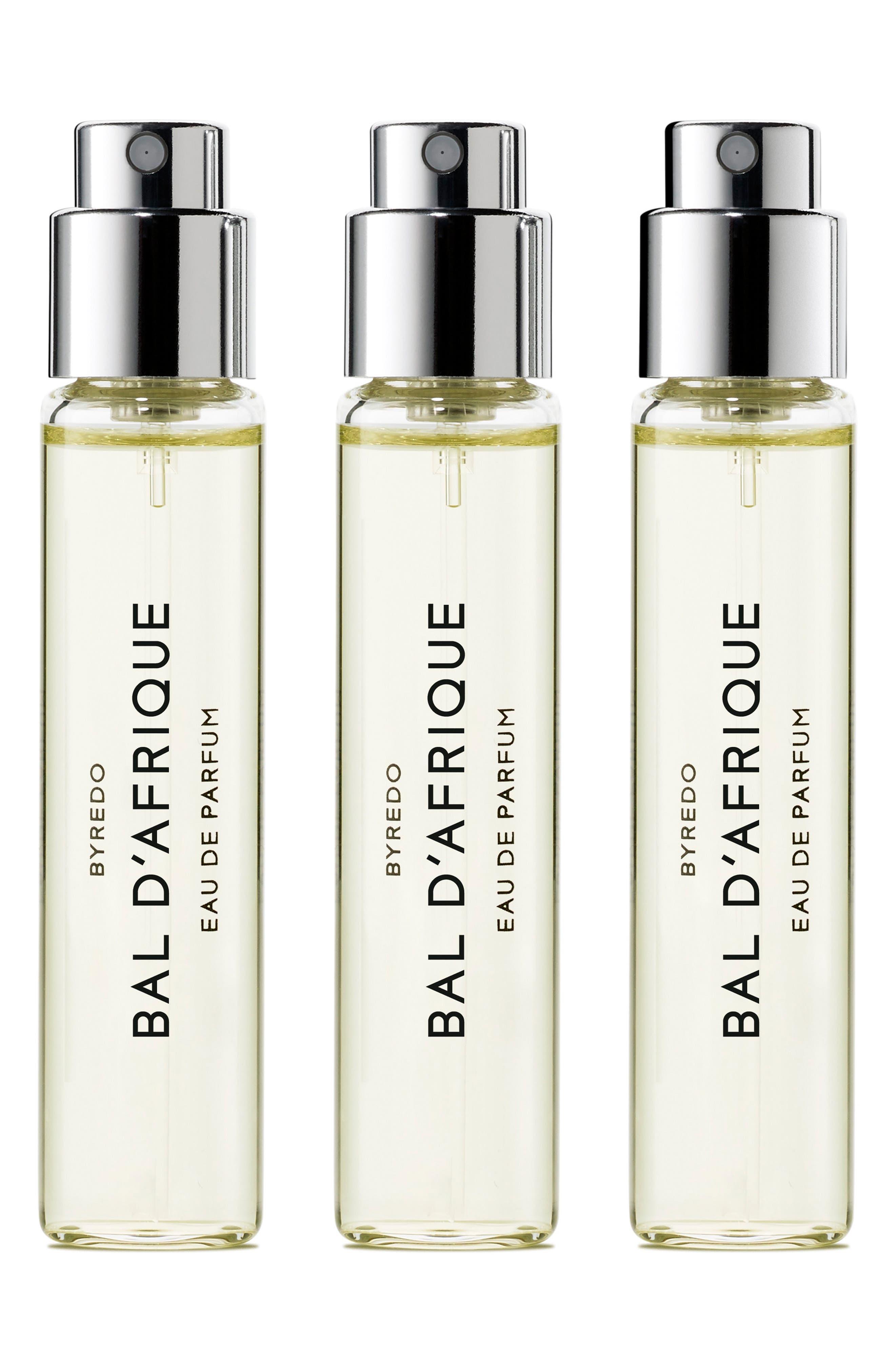 Bal d'Afrique Eau de Parfum Travel Spray Trio,                             Main thumbnail 1, color,                             000