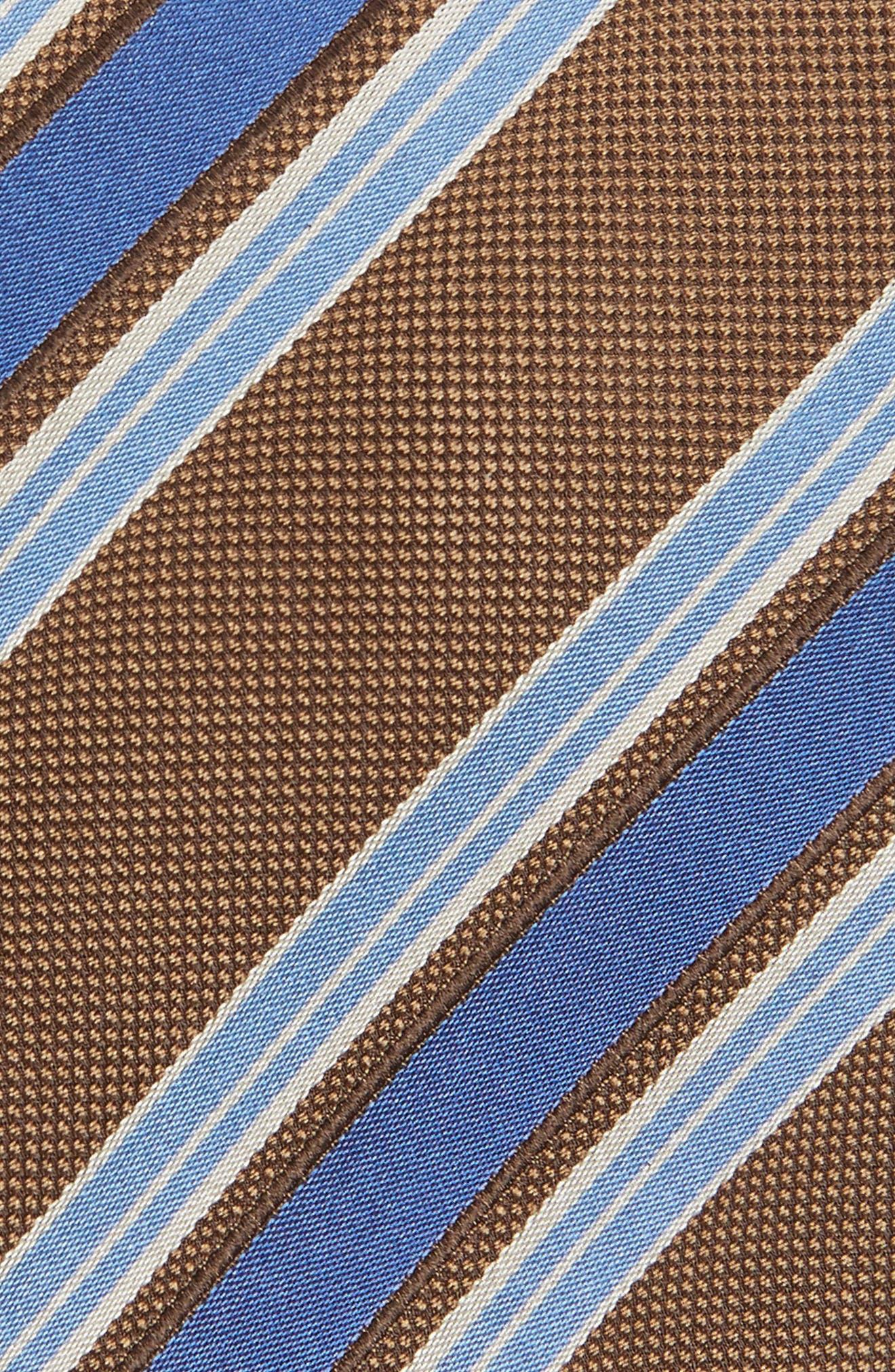 Stripe Silk Tie,                             Alternate thumbnail 2, color,                             294