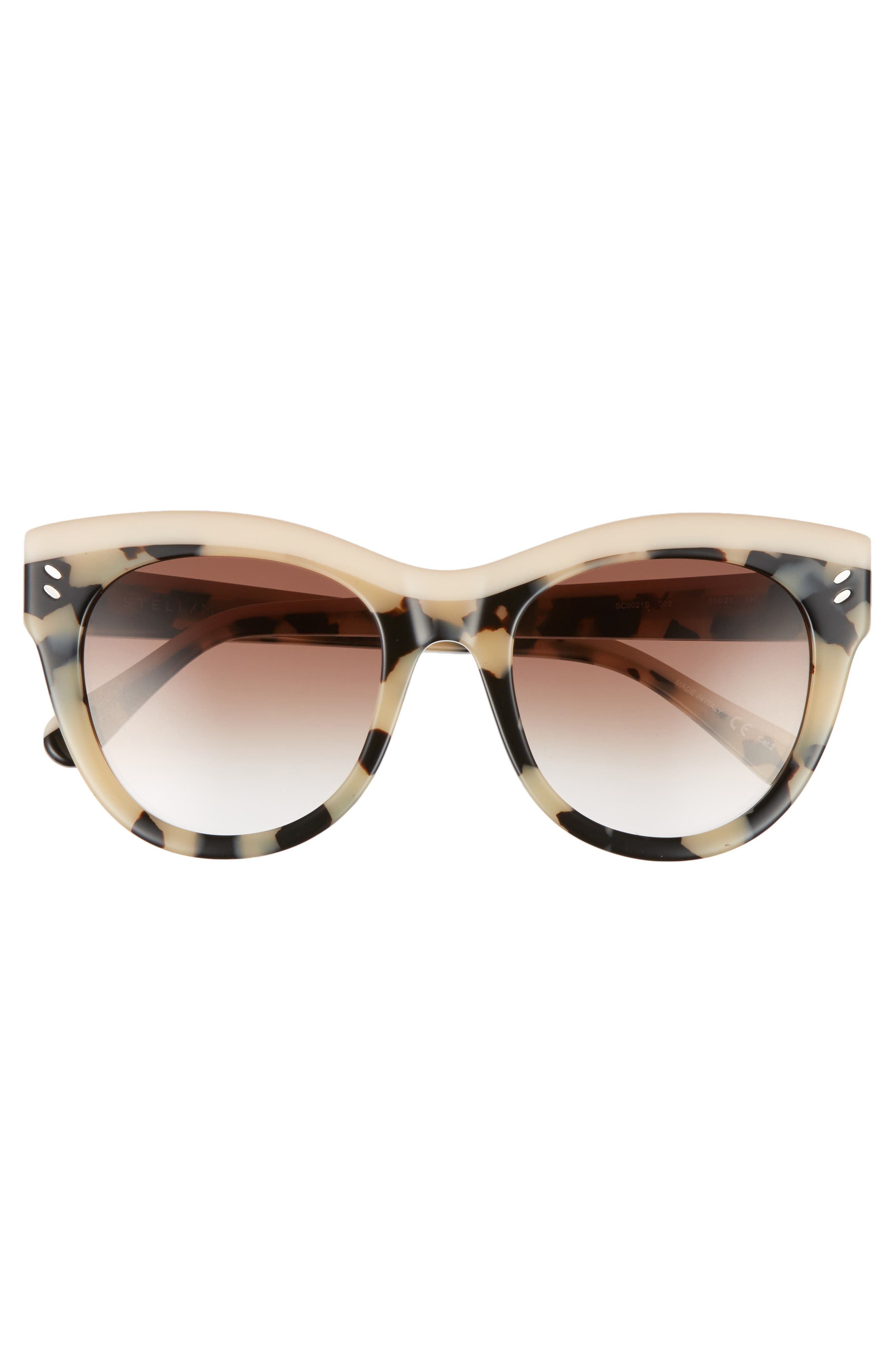 51mm Cat Eye Sunglasses,                             Alternate thumbnail 8, color,