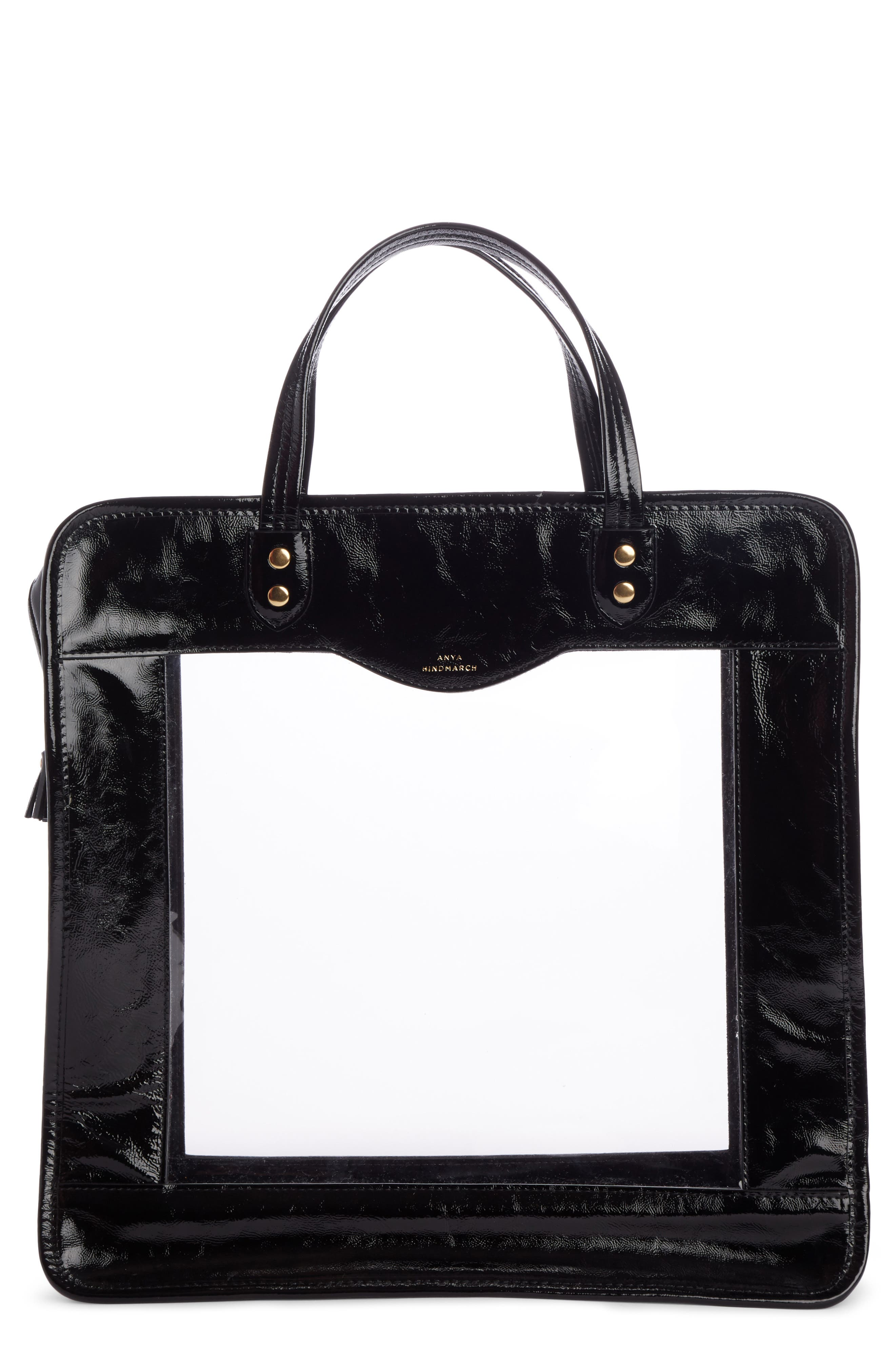 Rainy Day Tote,                         Main,                         color, BLACK