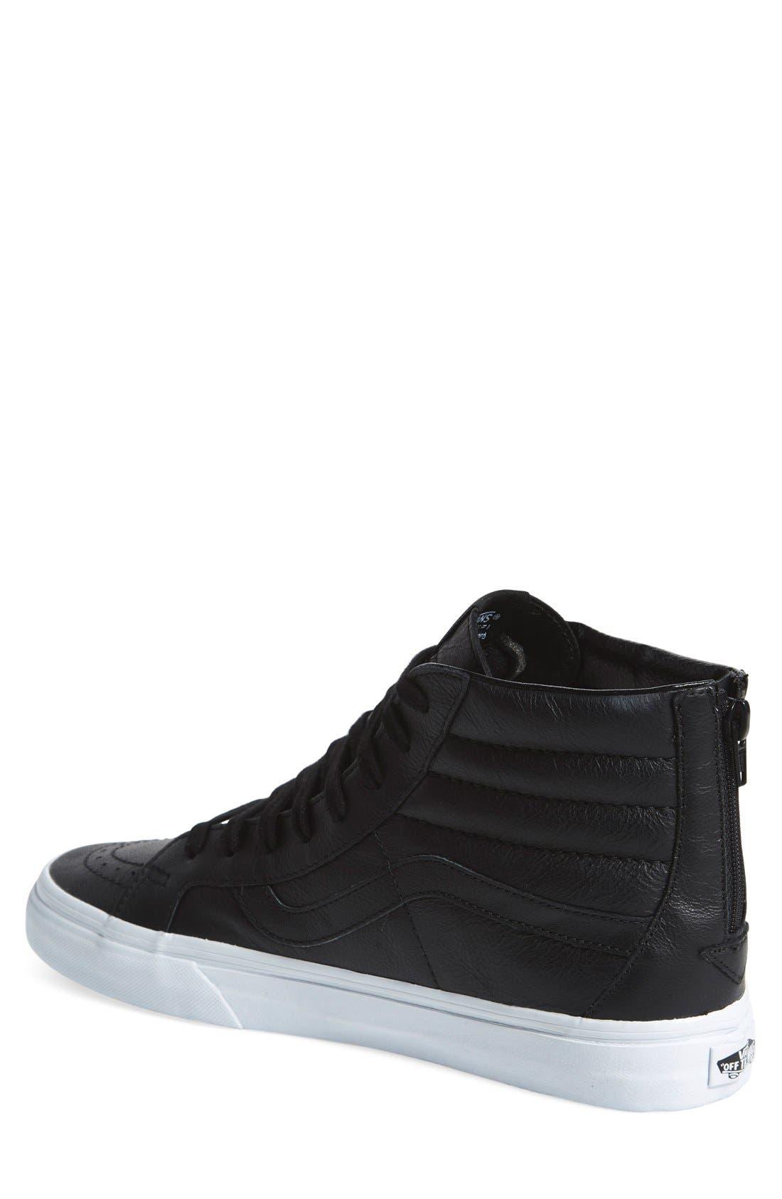 'Sk8-Hi Reissue' Sneaker,                             Alternate thumbnail 3, color,                             001