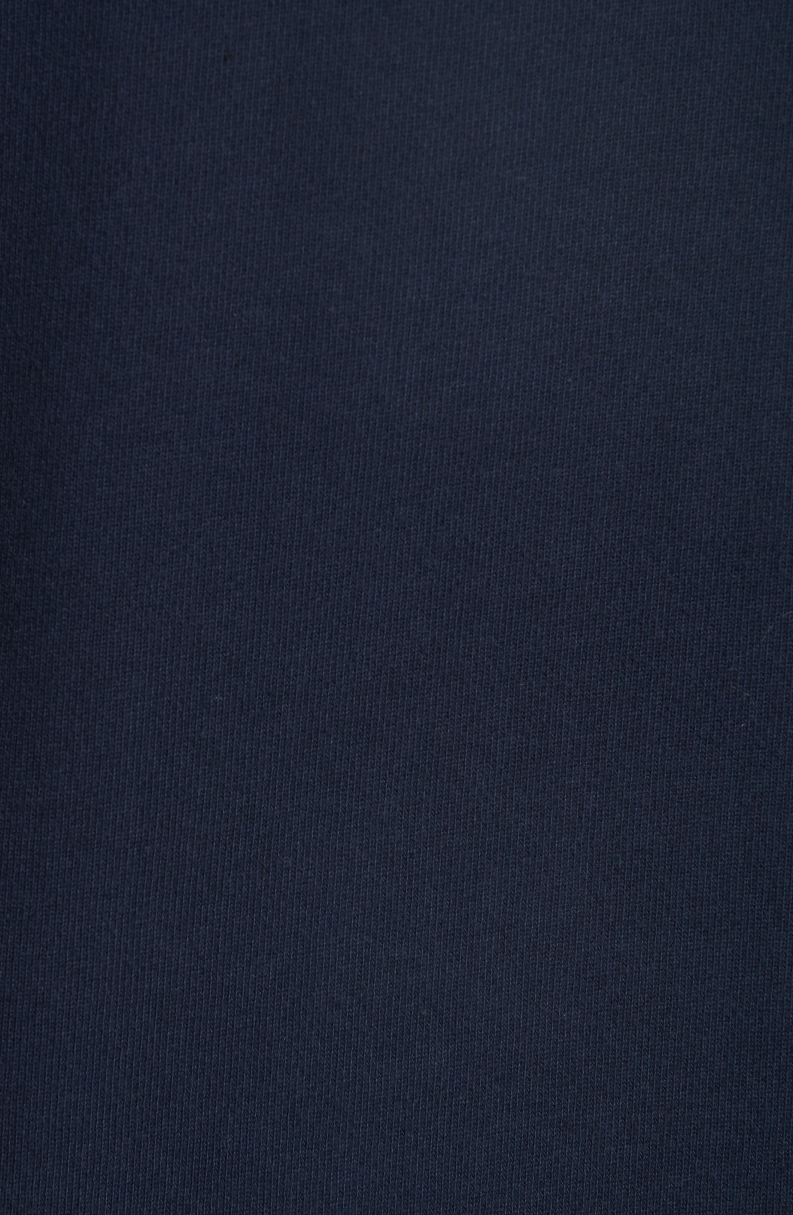 New Logo Crewneck Sweatshirt,                             Alternate thumbnail 5, color,                             IAK NAVY