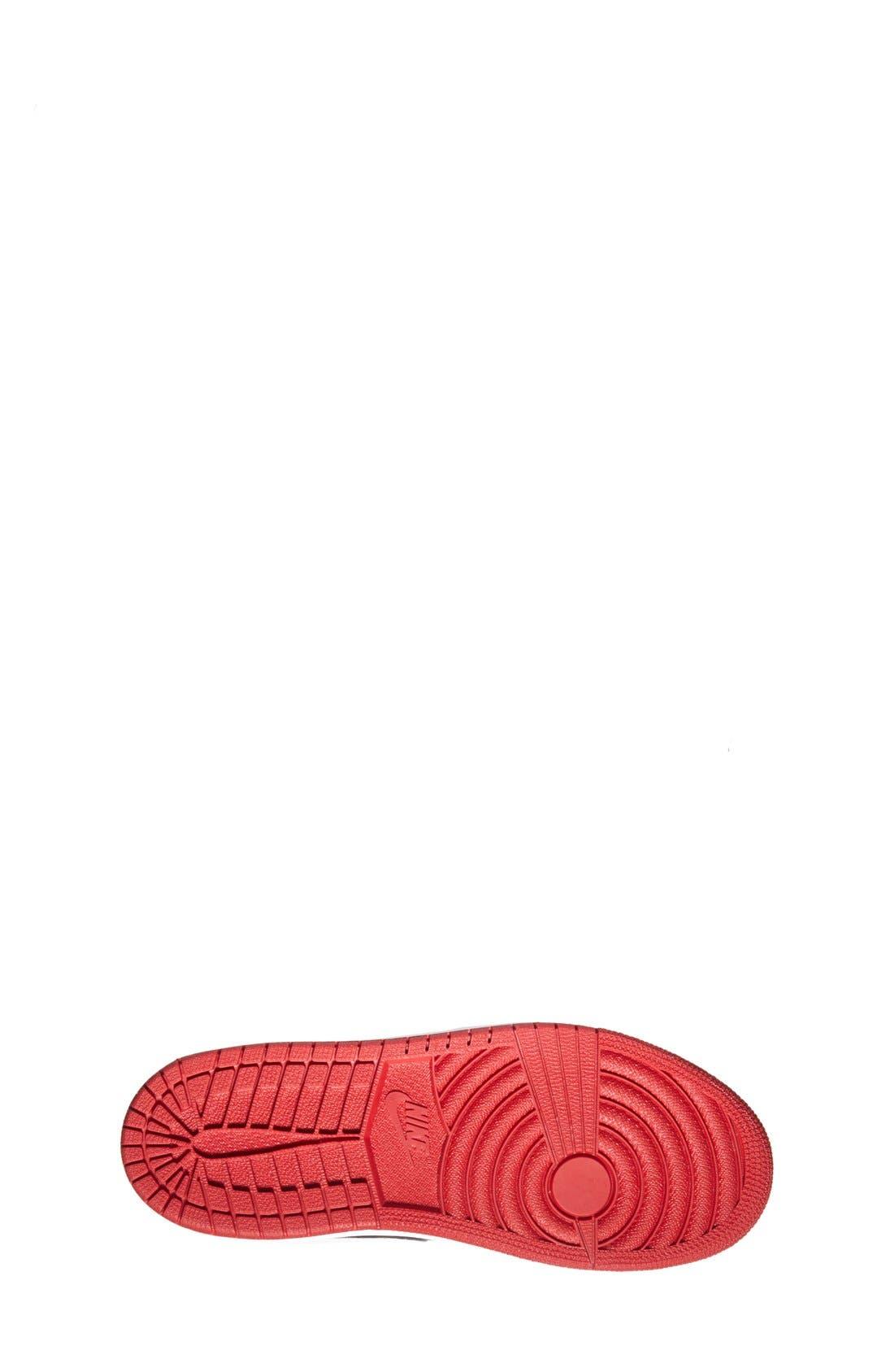 'Air Jordan 1' Mid Sneaker,                             Alternate thumbnail 4, color,                             003