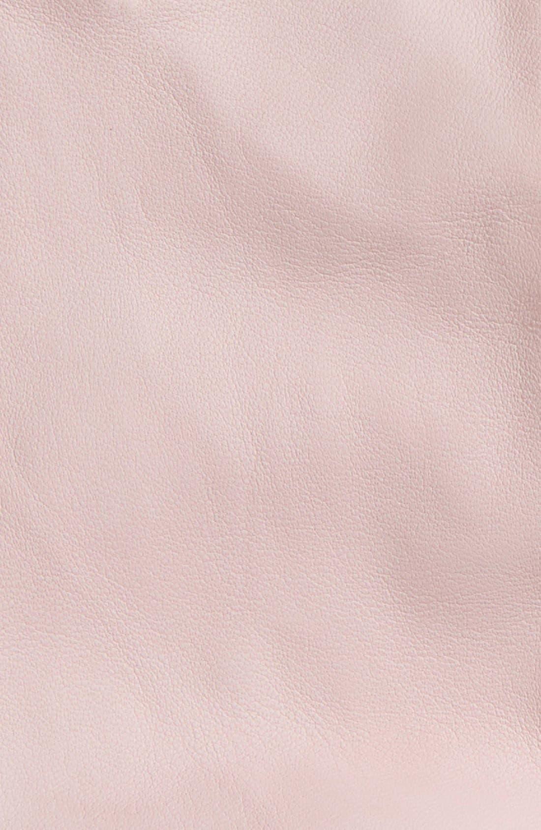 Short Leather Gloves,                             Alternate thumbnail 12, color,