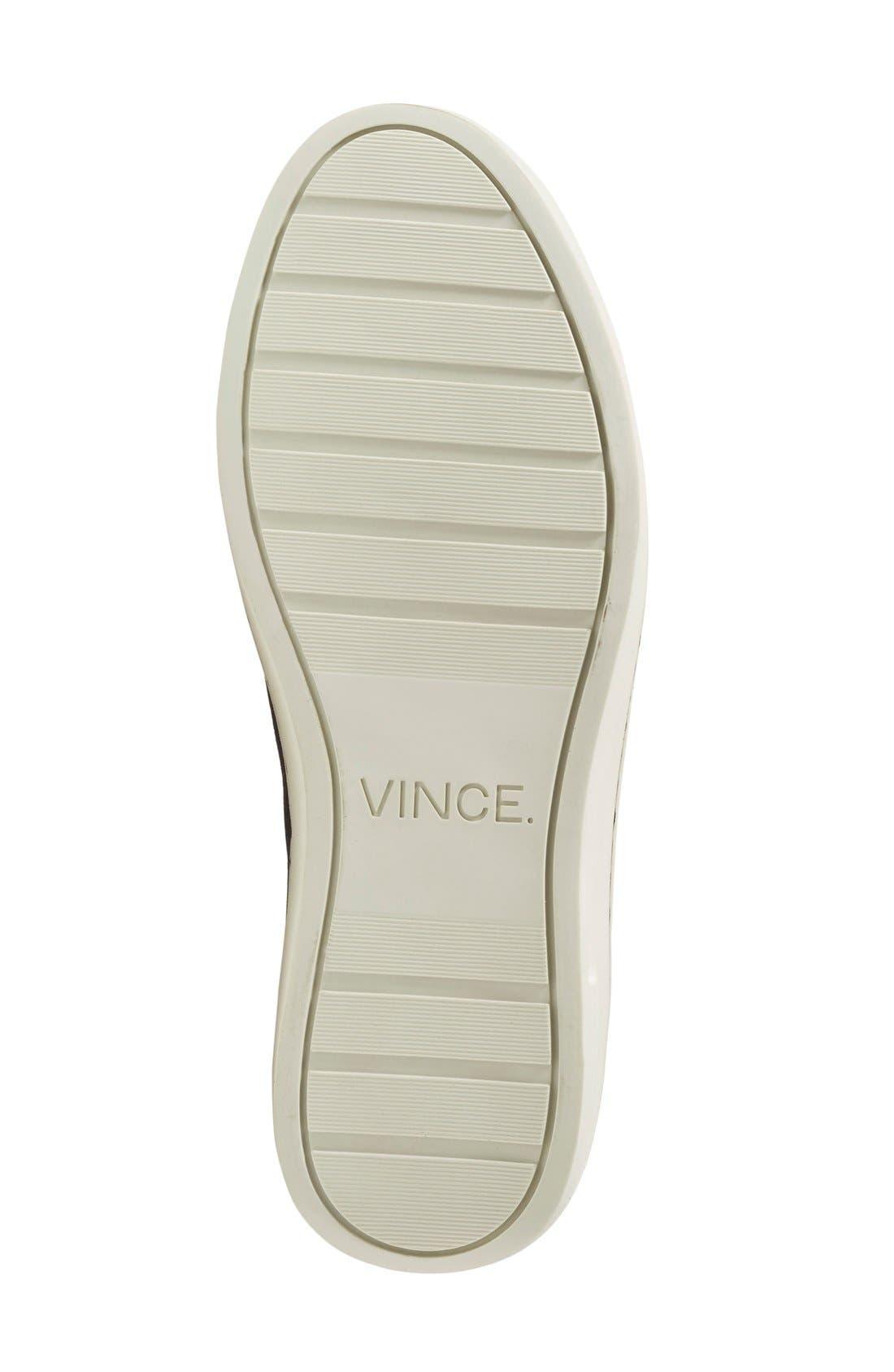 'Simon' Perforated Sneaker,                             Alternate thumbnail 3, color,                             407