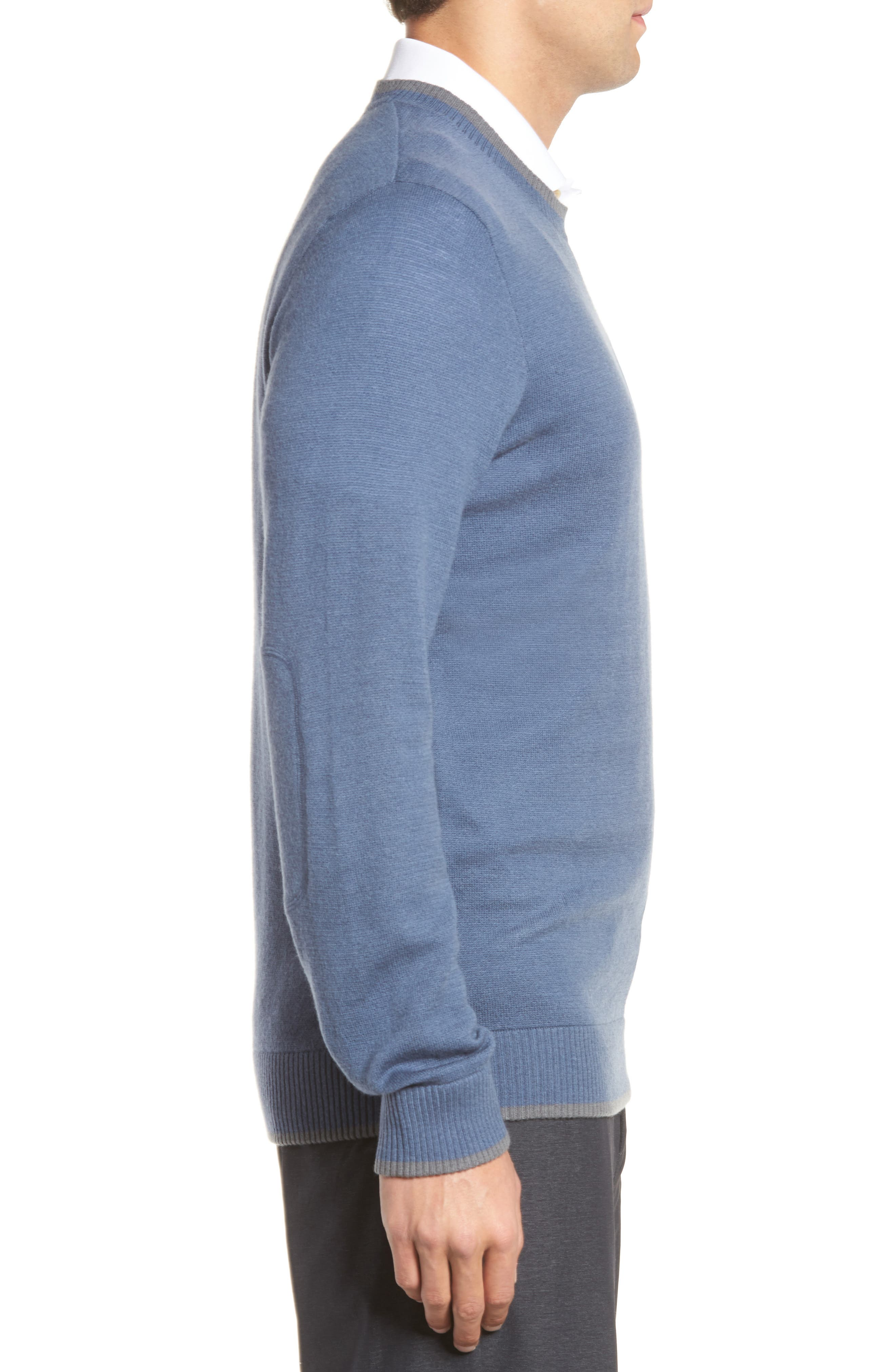 Paglia Wool Blend Sweater,                             Alternate thumbnail 3, color,                             400