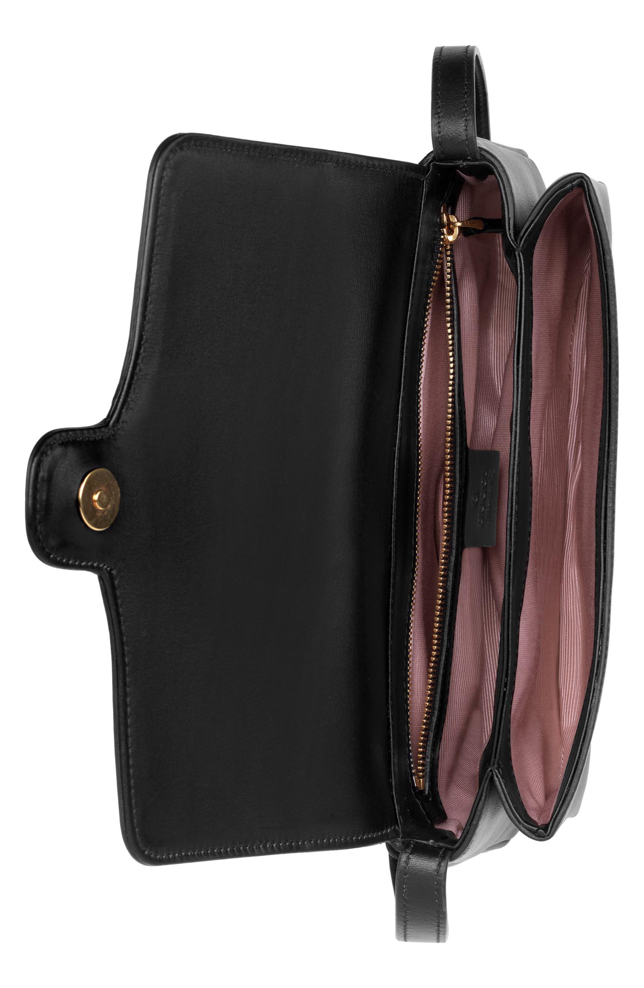 Small Arli Convertible Shoulder Bag,                             Alternate thumbnail 3, color,                             NERO