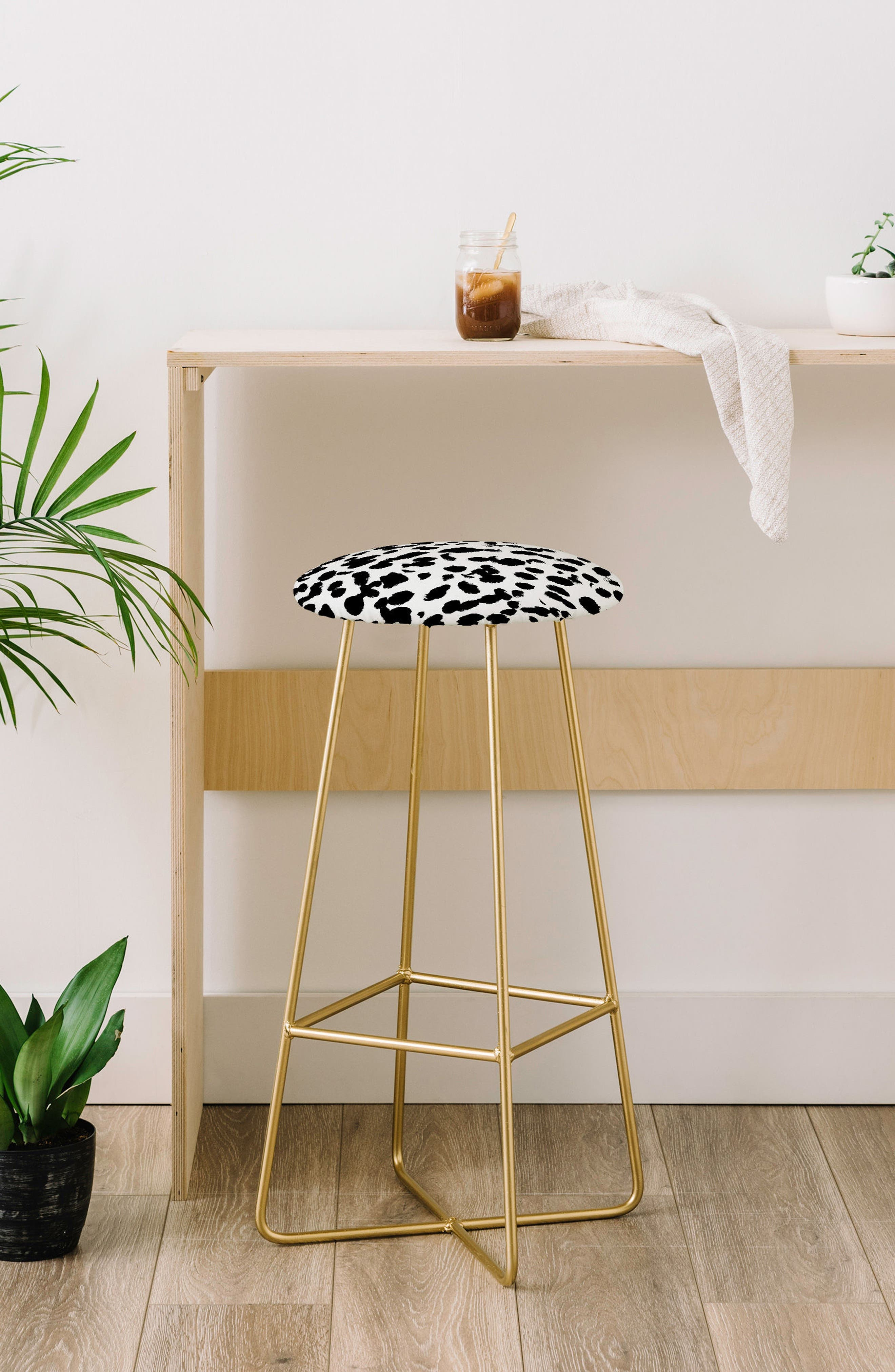 Print Bar Stool,                             Alternate thumbnail 8, color,