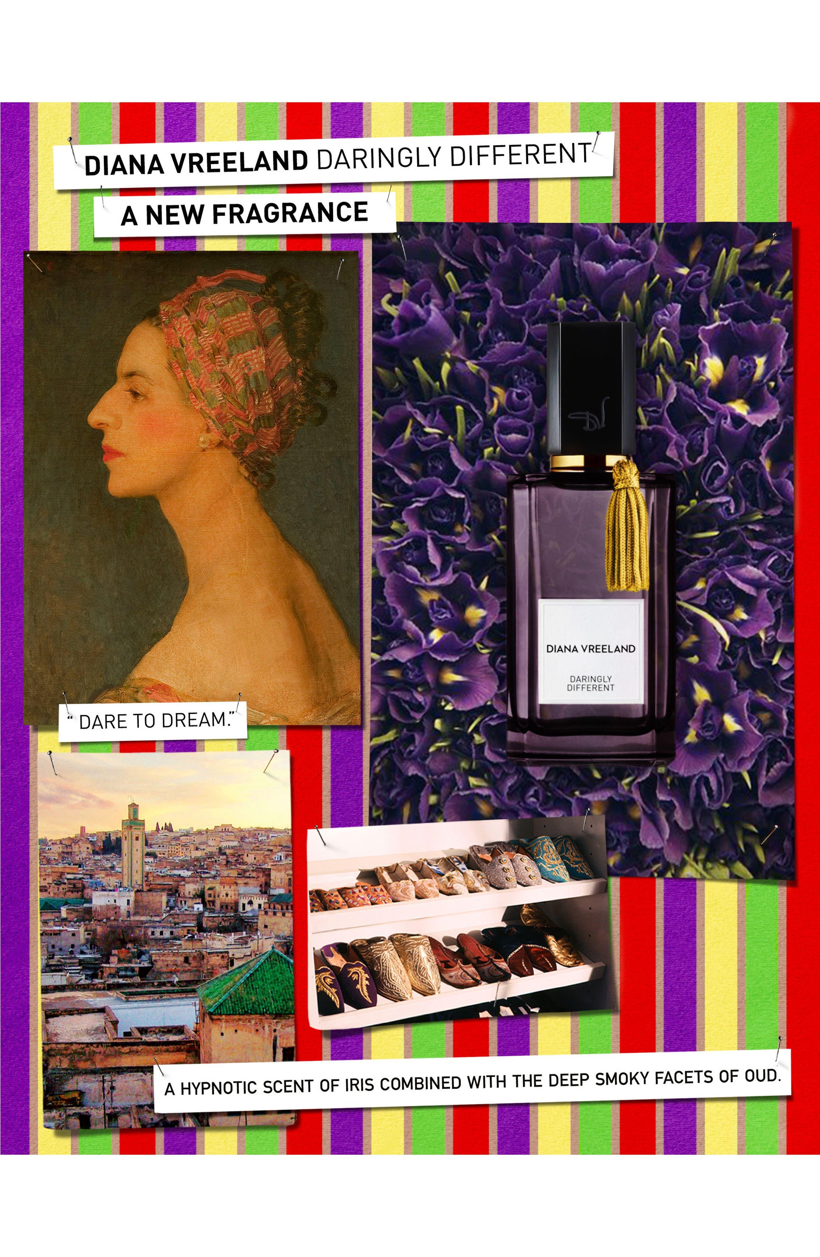 'Daringly Different' Eau de Parfum,                             Alternate thumbnail 3, color,                             000