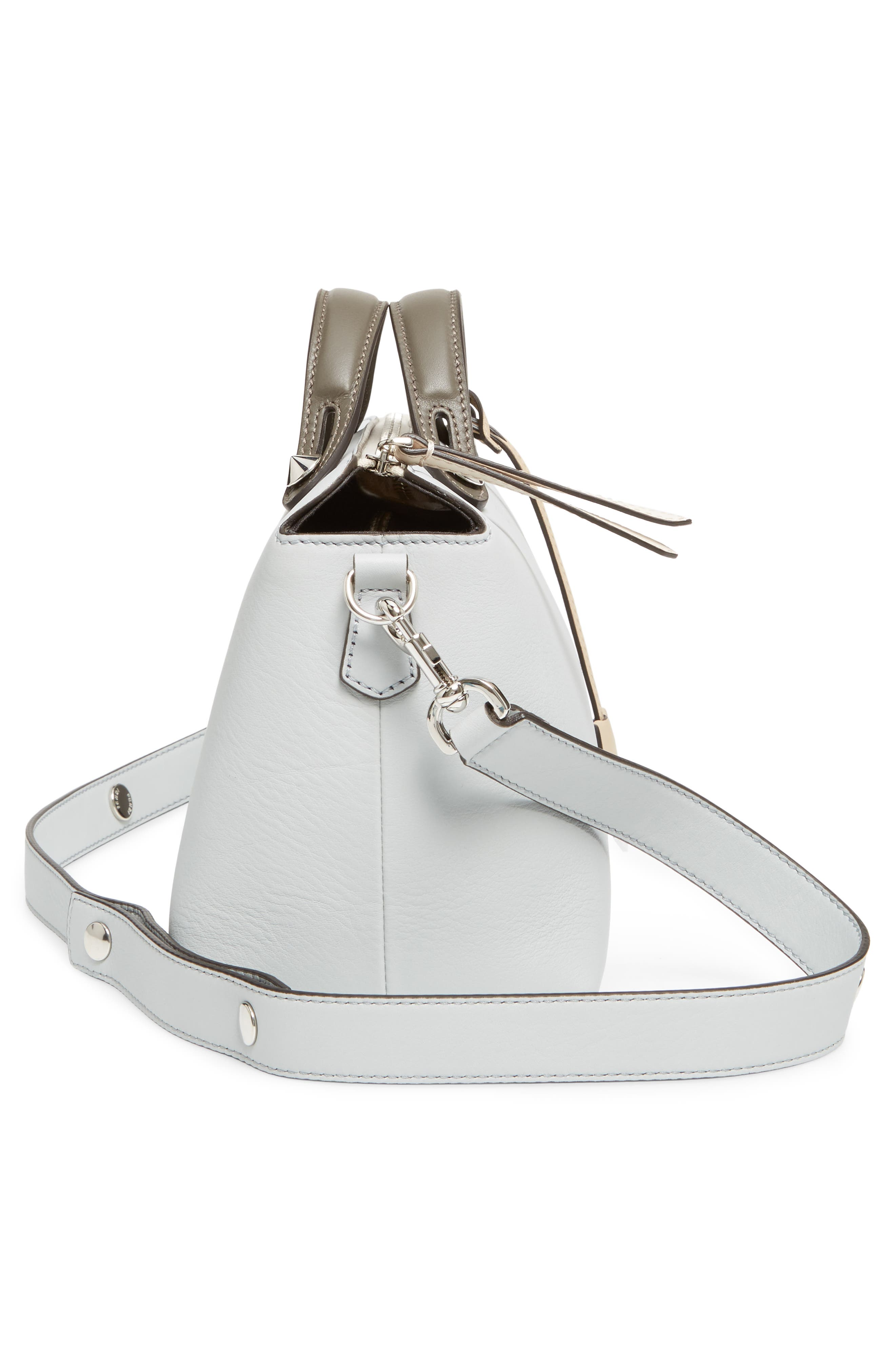'Medium By the Way' Colorblock Leather Shoulder Bag,                             Alternate thumbnail 54, color,
