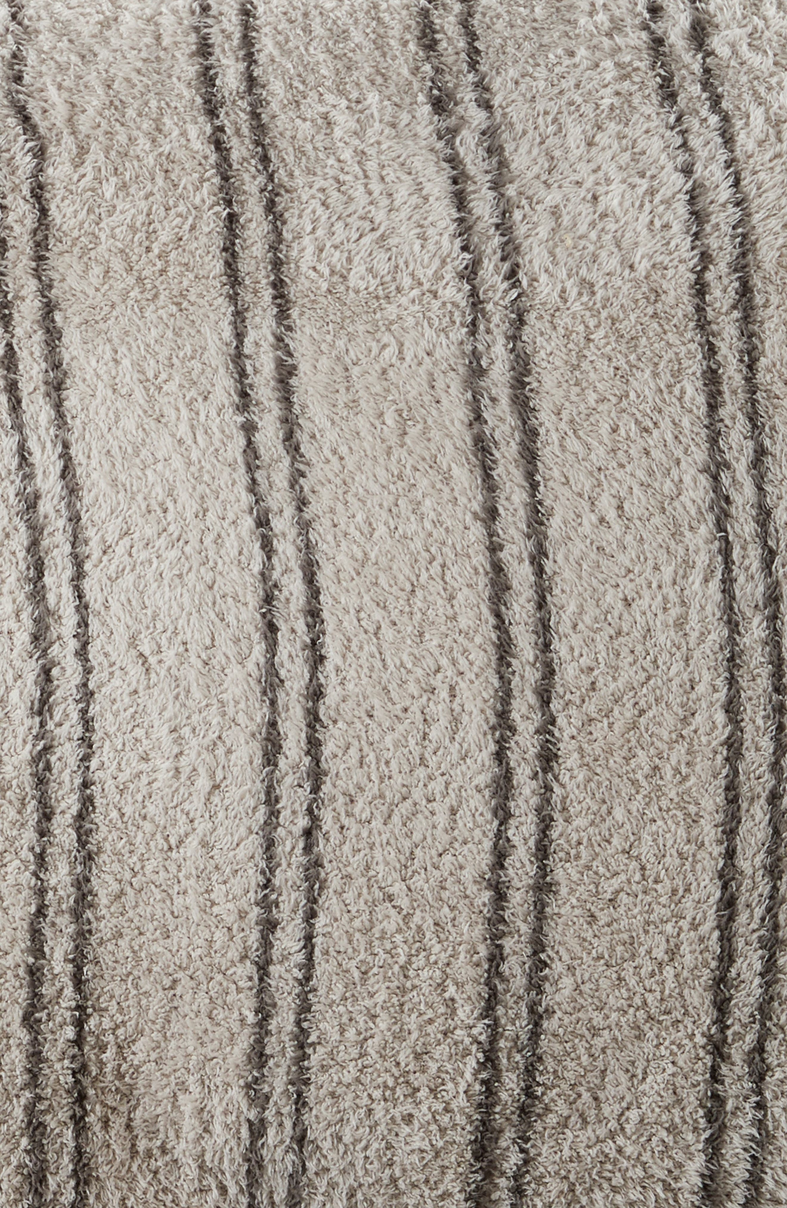 BAREFOOT DREAMS<SUP>®</SUP>,                             CozyChic<sup>®</sup> Vertical Stripe Duvet Cover & Shams,                             Alternate thumbnail 2, color,                             STONE/ CHARCOAL