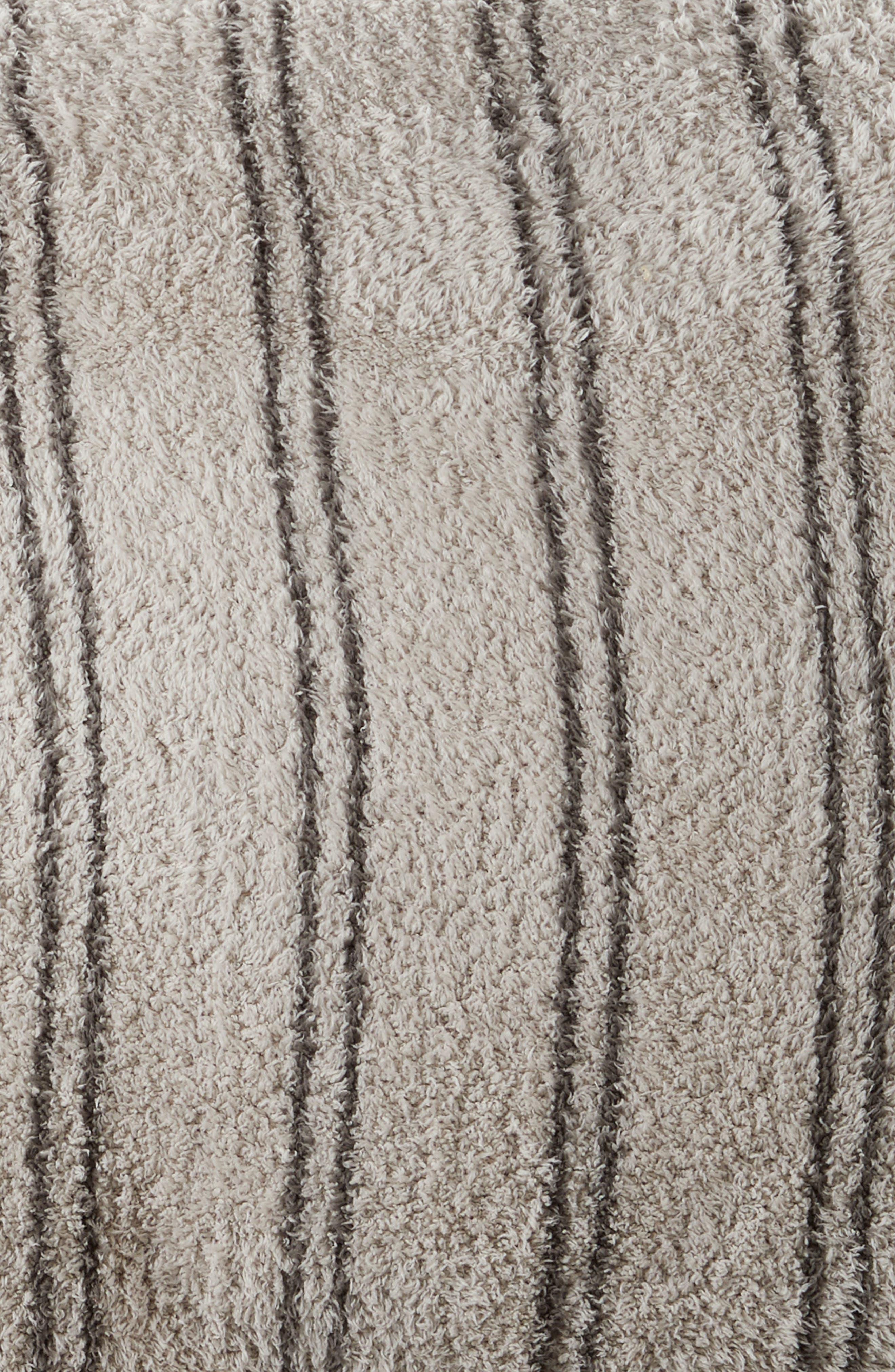 CozyChic<sup>®</sup> Vertical Stripe Duvet Cover & Shams,                             Alternate thumbnail 2, color,                             STONE/ CHARCOAL
