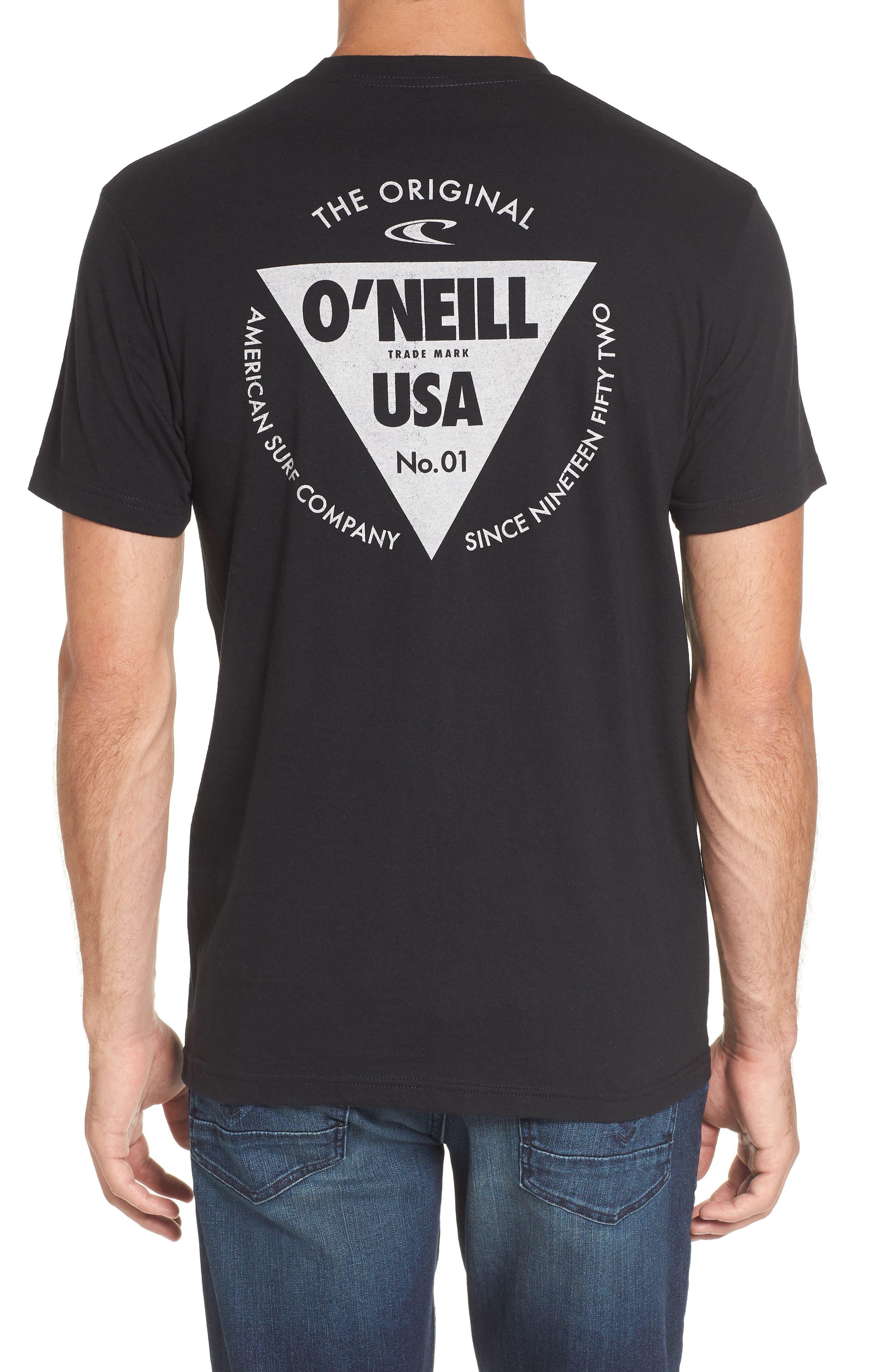 Diver Graphic Pocket T-Shirt,                             Alternate thumbnail 2, color,                             001
