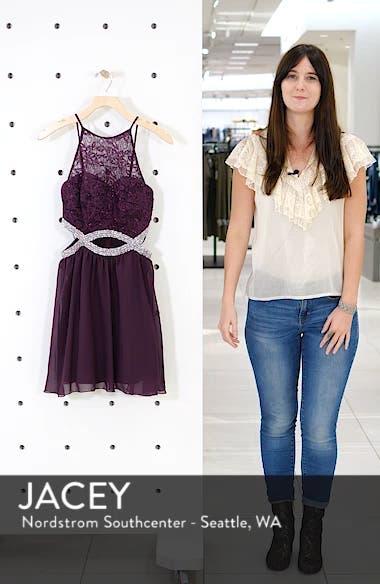 Lace Halter Dress, sales video thumbnail