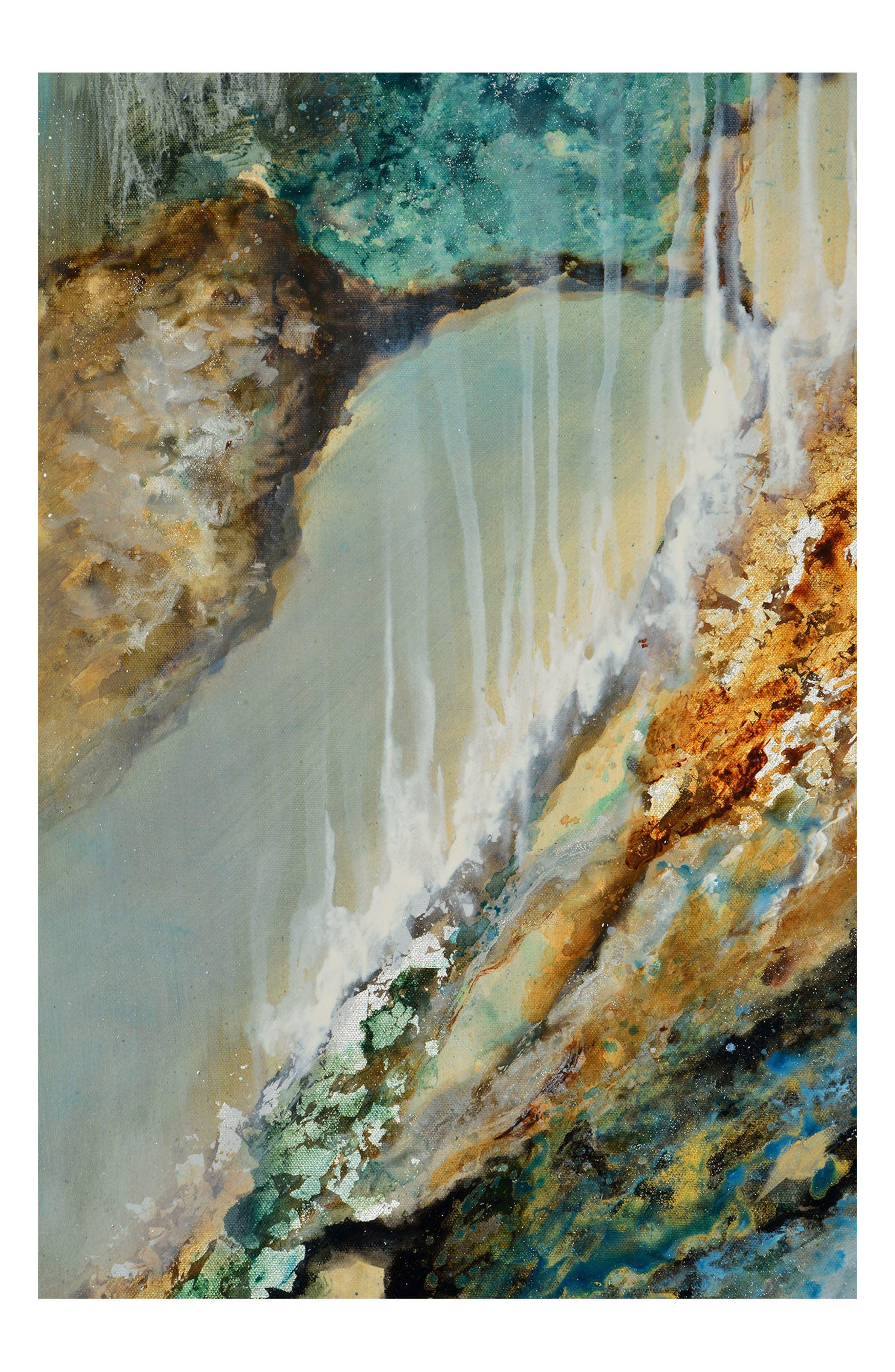 Cascade Canvas Art,                             Alternate thumbnail 3, color,                             300