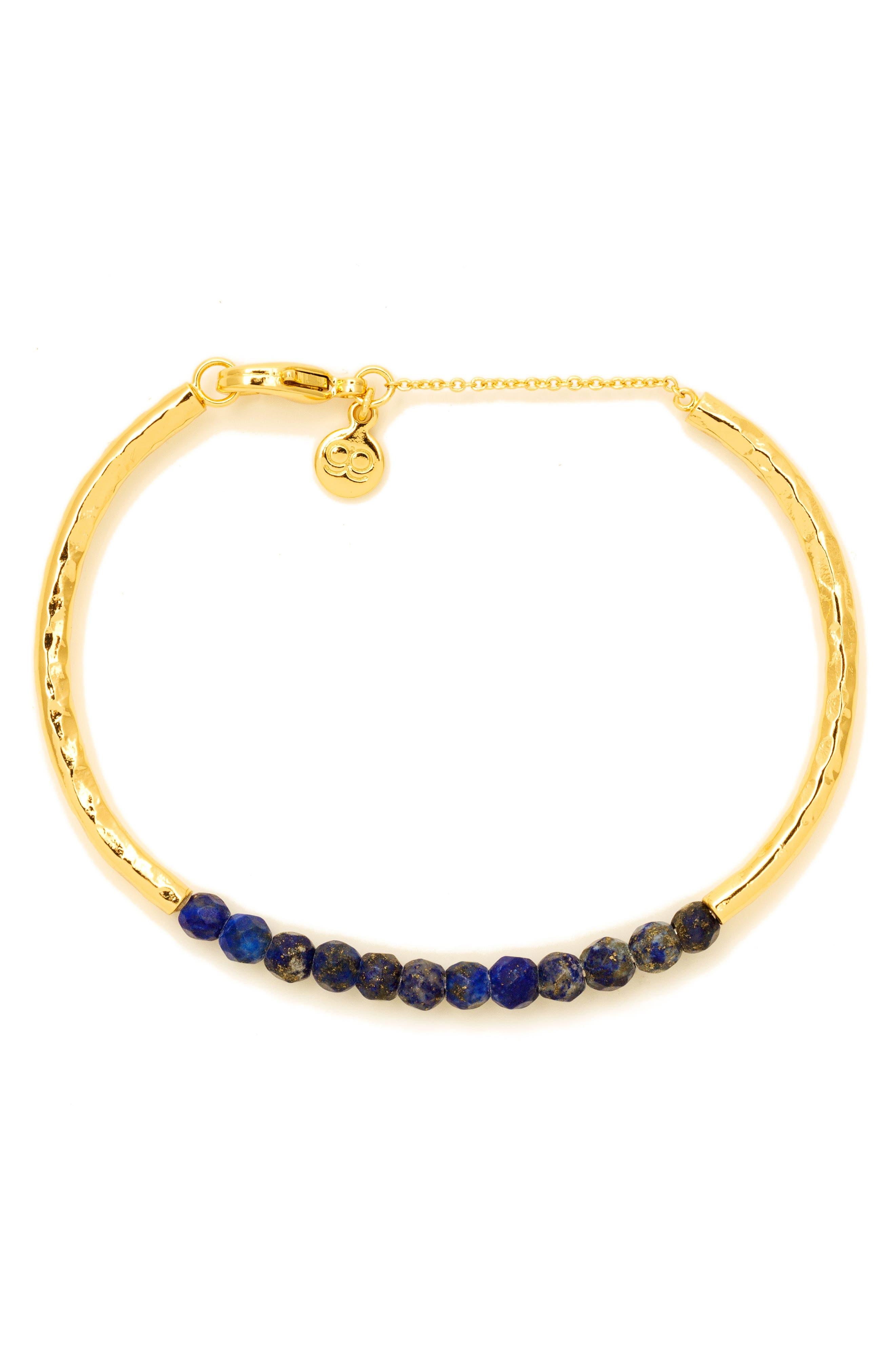 Power Stone Semiprecious Beaded Bracelet,                             Alternate thumbnail 14, color,