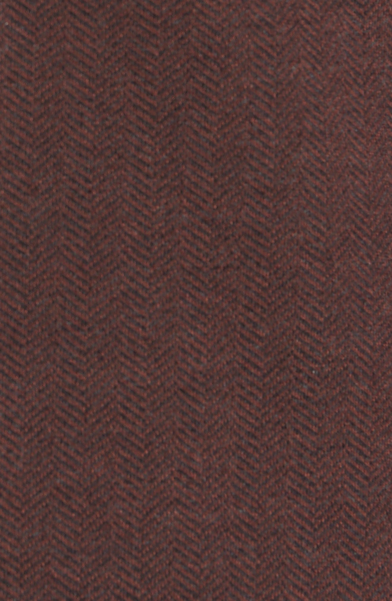 Herrold Slim Fit Herringbone Jersey Sport Coat,                             Alternate thumbnail 6, color,                             205