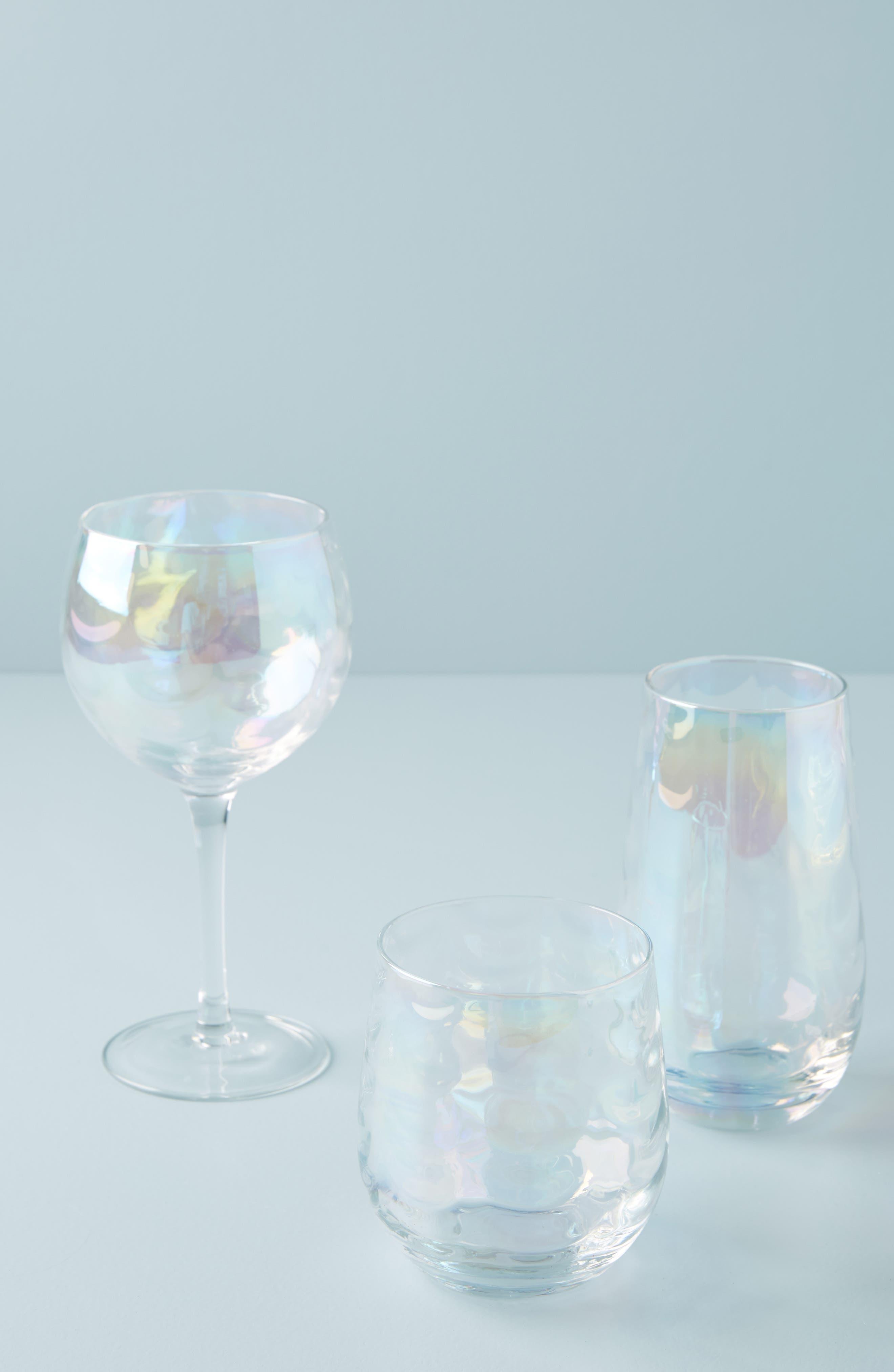 Katana Stemless Wine Glass,                             Alternate thumbnail 3, color,                             123