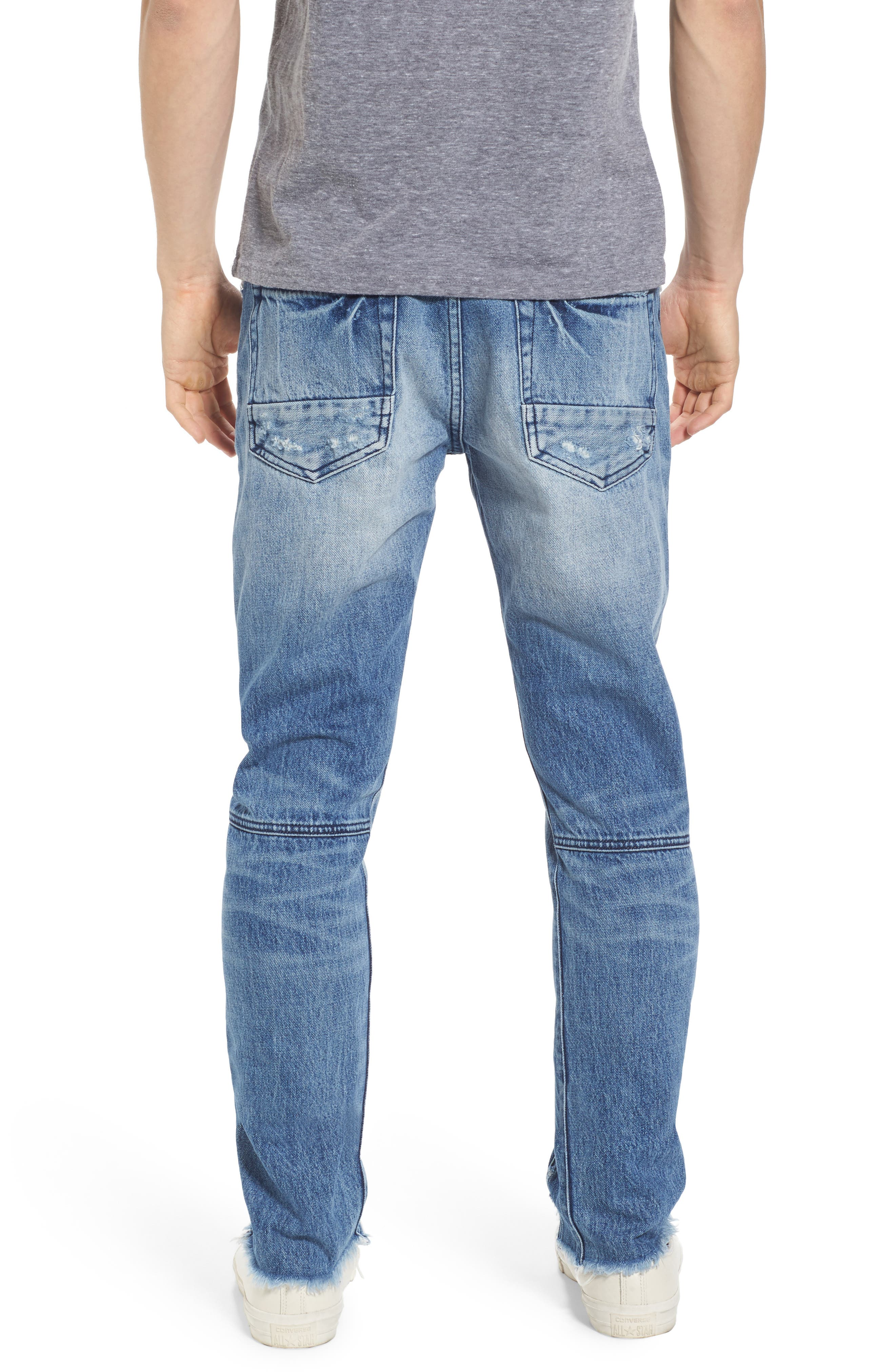 Le Sabre Tapered Fit Jeans,                             Alternate thumbnail 2, color,                             490