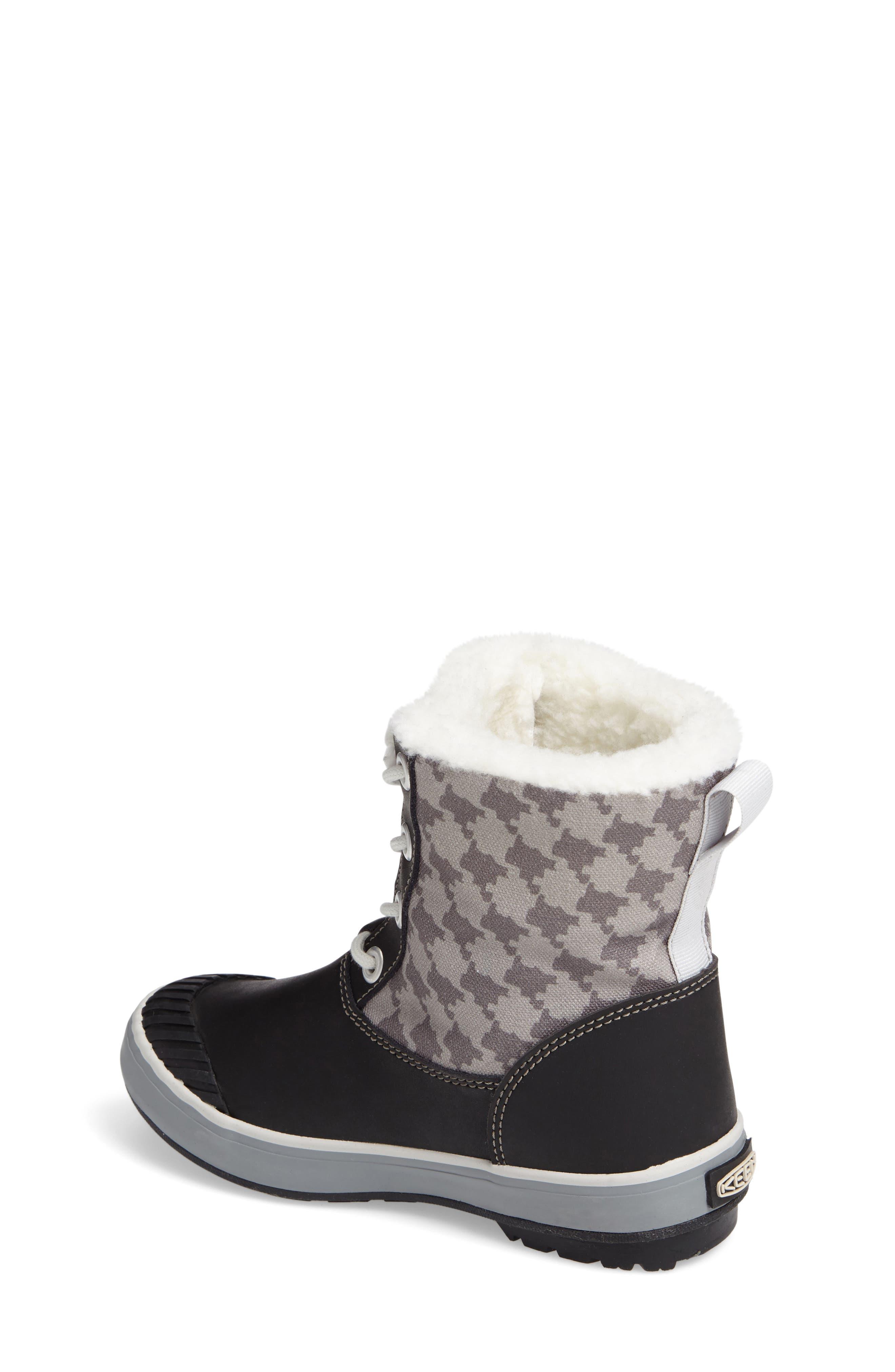 Elsa Waterproof Faux Fur Lined Snow Boot,                             Alternate thumbnail 6, color,