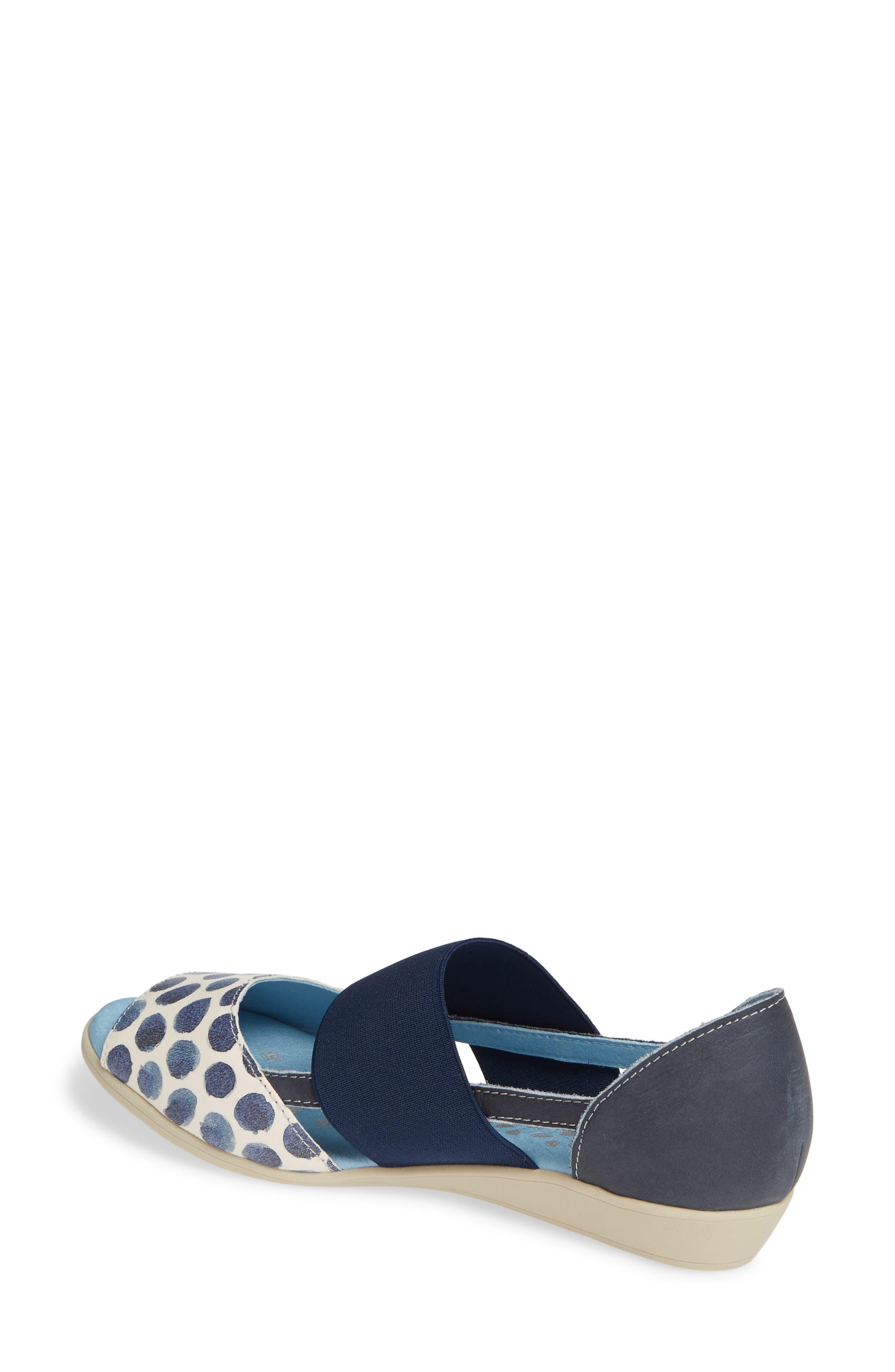 CLOUD,                             'Canary' Skimmer Sandal,                             Alternate thumbnail 2, color,                             TUPAI BLUE LEATHER