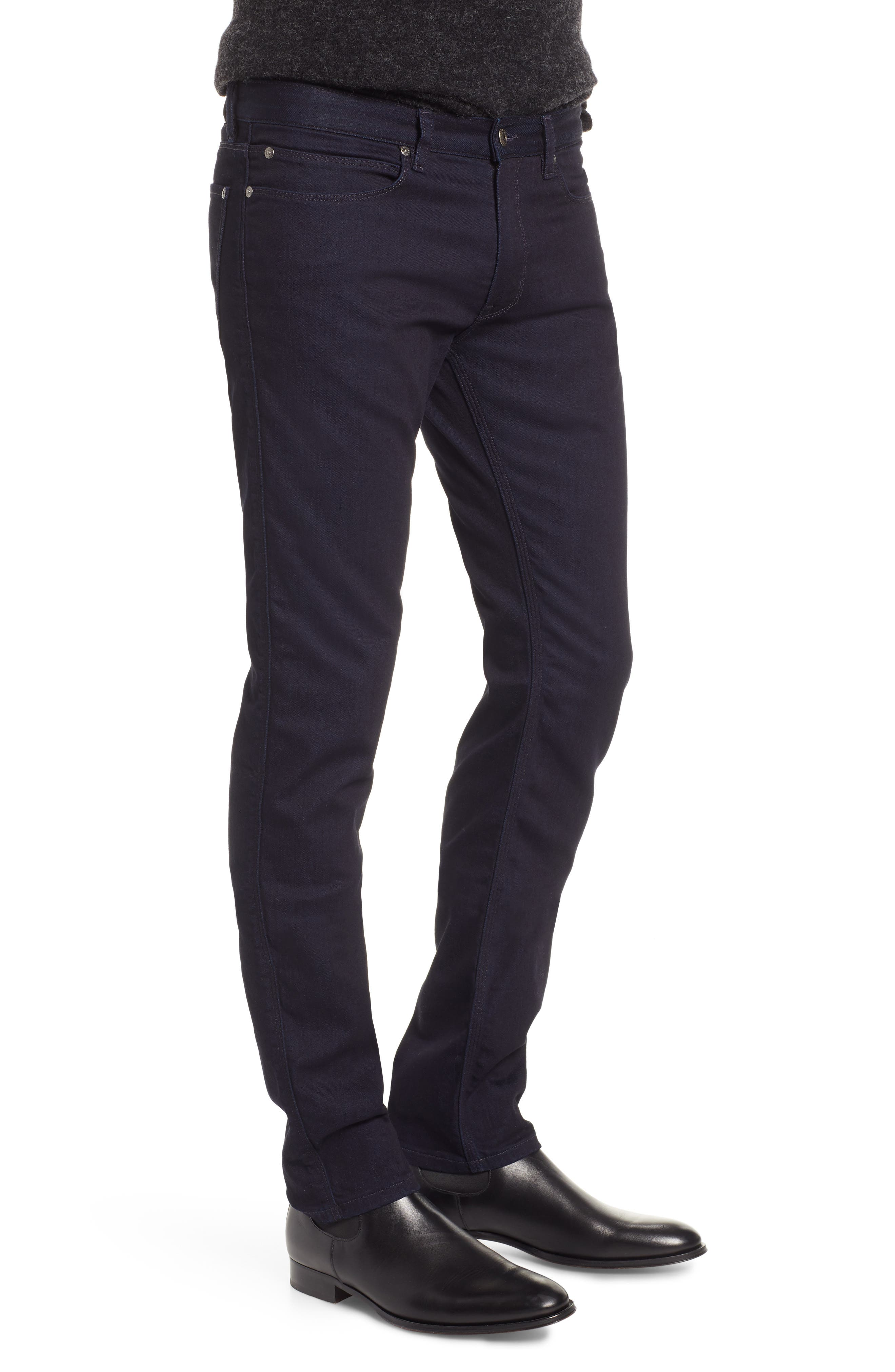 Dressy Slim Fit Jeans,                             Alternate thumbnail 3, color,                             401