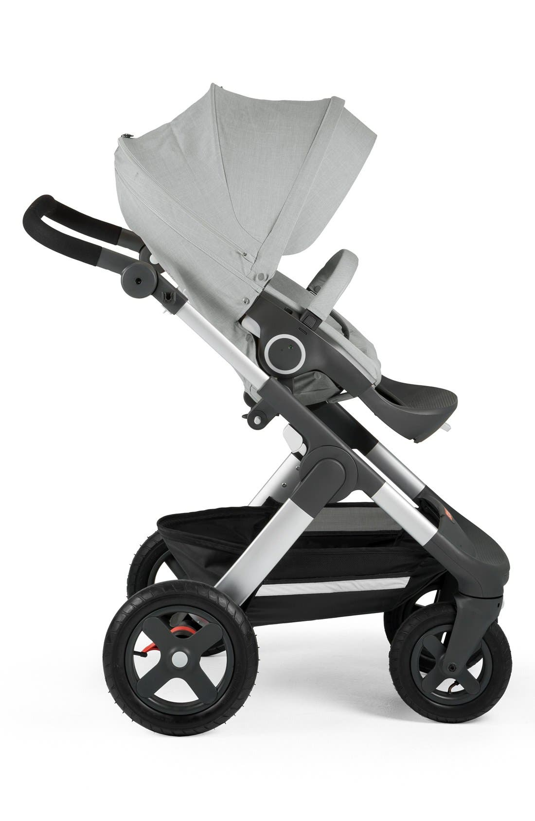 Trailz<sup>™</sup> All Terrain Stroller,                             Alternate thumbnail 5, color,                             GREY MELANGE