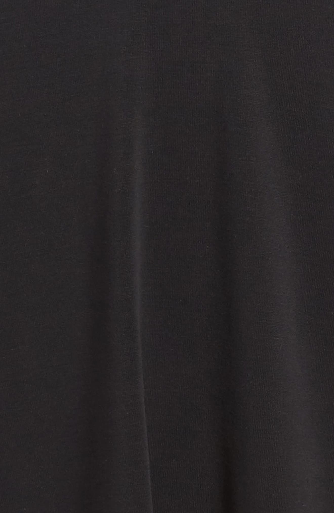 Cross Front Knit Dress,                             Alternate thumbnail 3, color,                             002