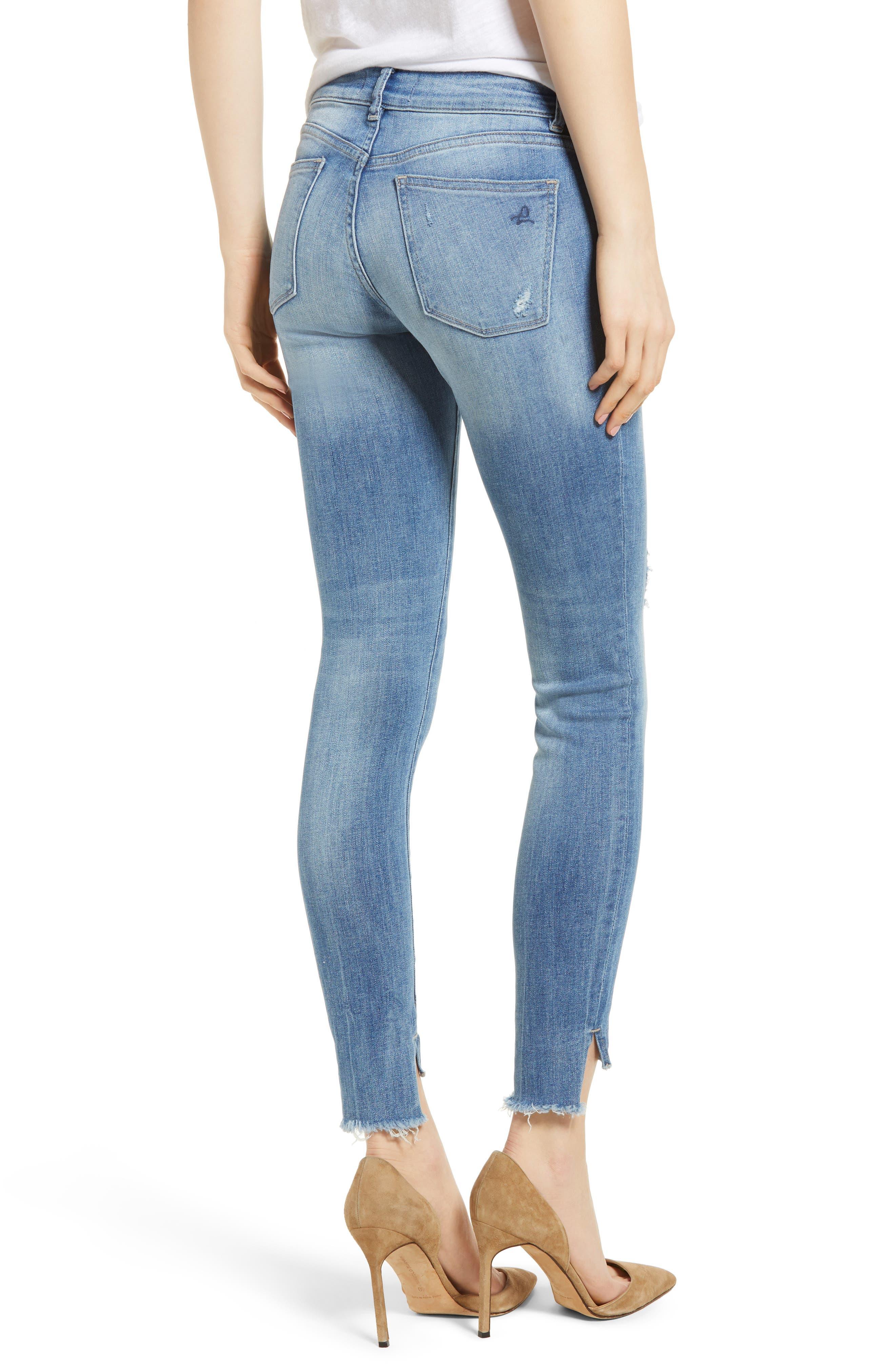 Emma Power Legging Skinny Jeans,                             Alternate thumbnail 2, color,                             MELBOURNE